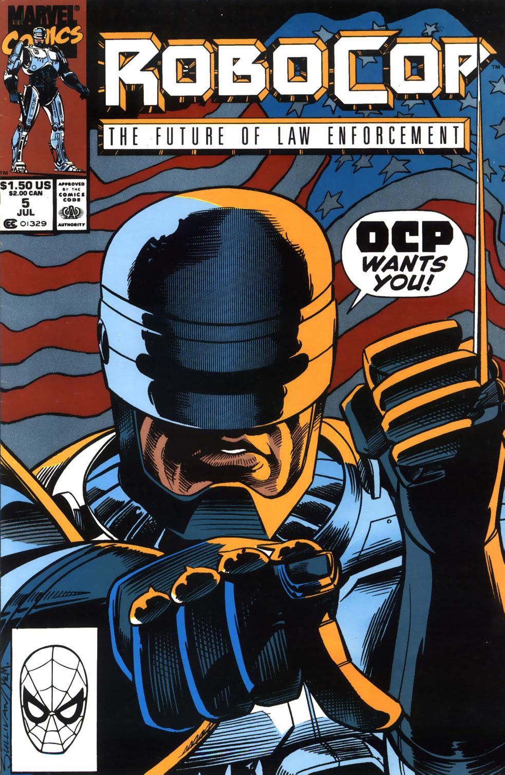 Read online Robocop (1990) comic -  Issue #5 - 1