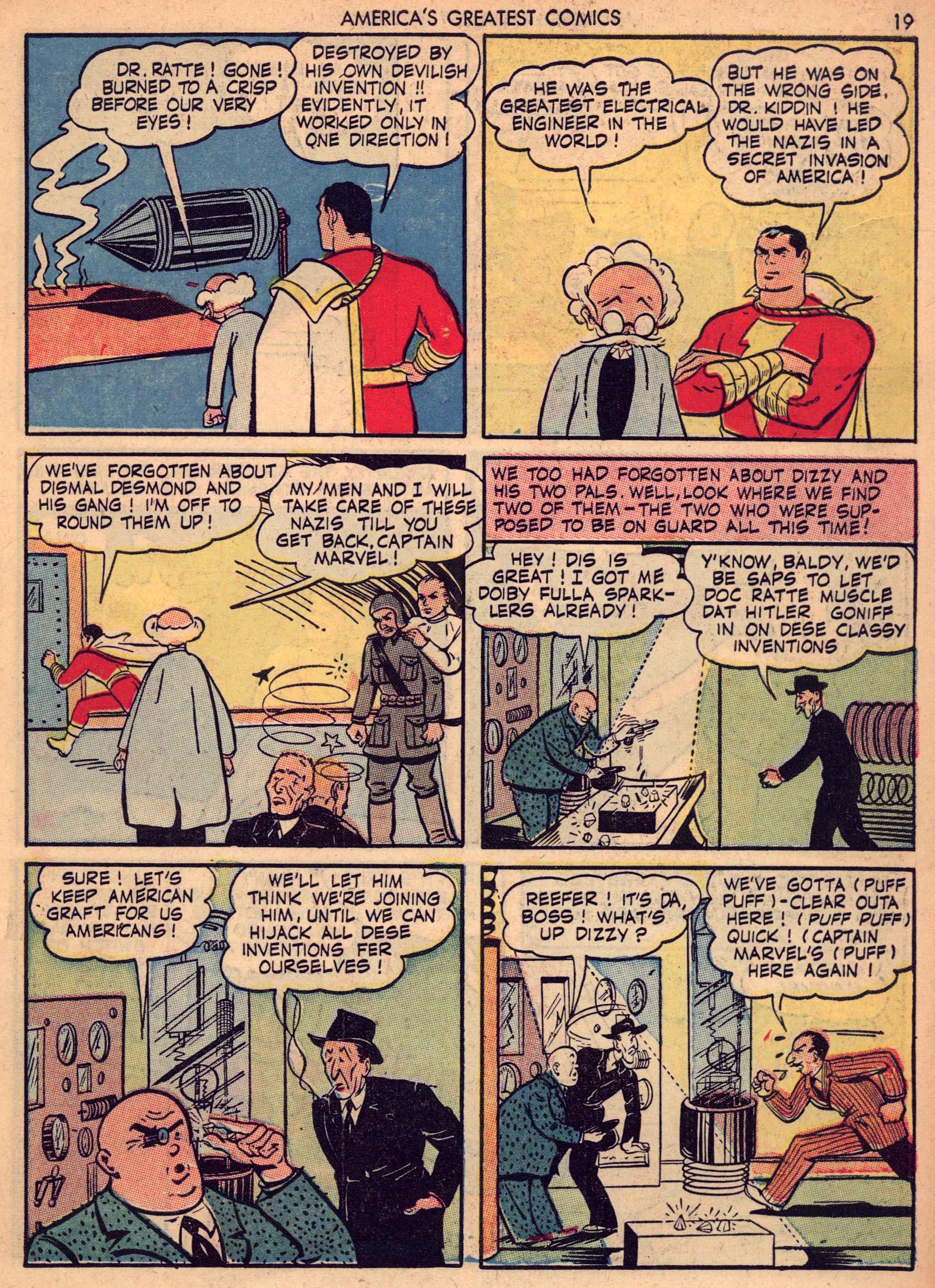 Read online America's Greatest Comics comic -  Issue #7 - 18
