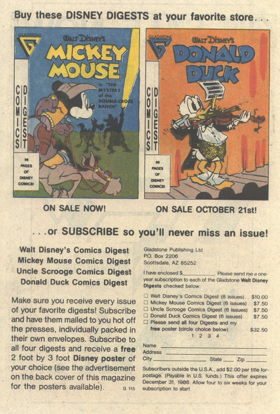 Walt Disney's Donald Duck (1986) issue 249 - Page 14