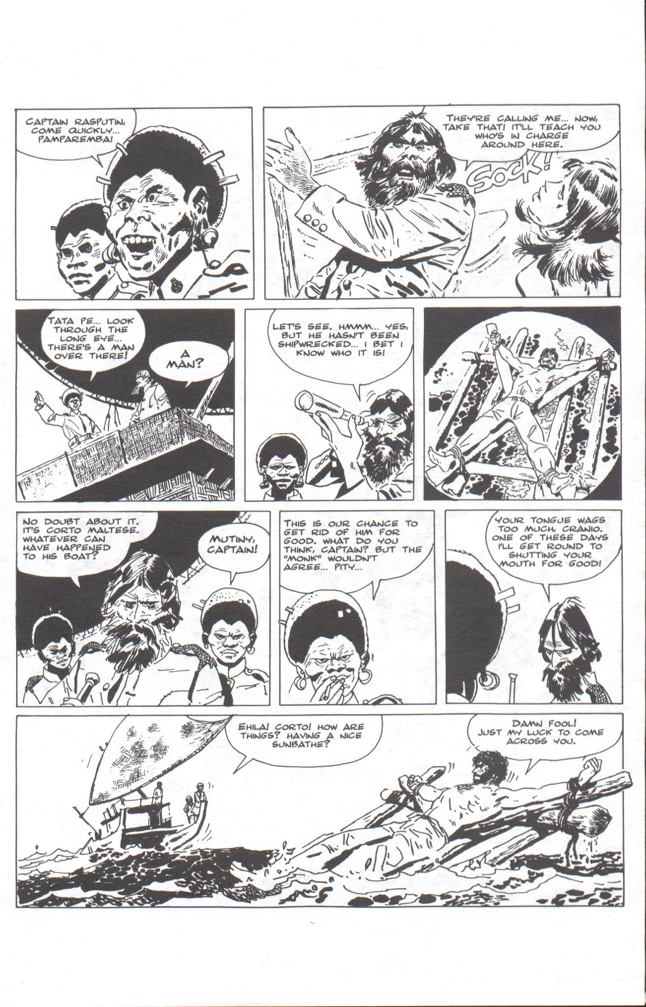 Read online Corto Maltese: Ballad of the Salt Sea comic -  Issue #1 - 7