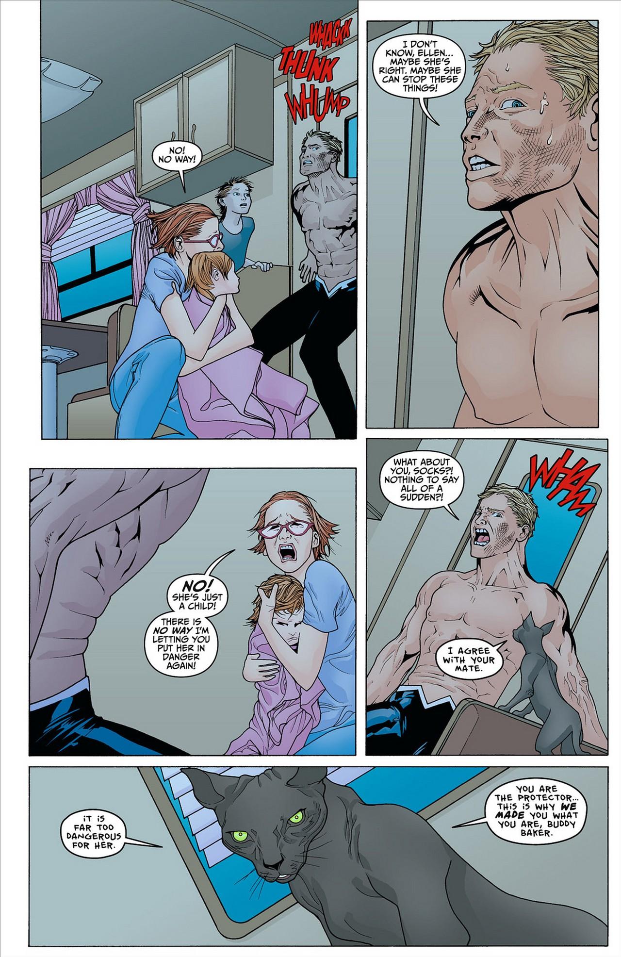 Read online Animal Man (2011) comic -  Issue #8 - 3