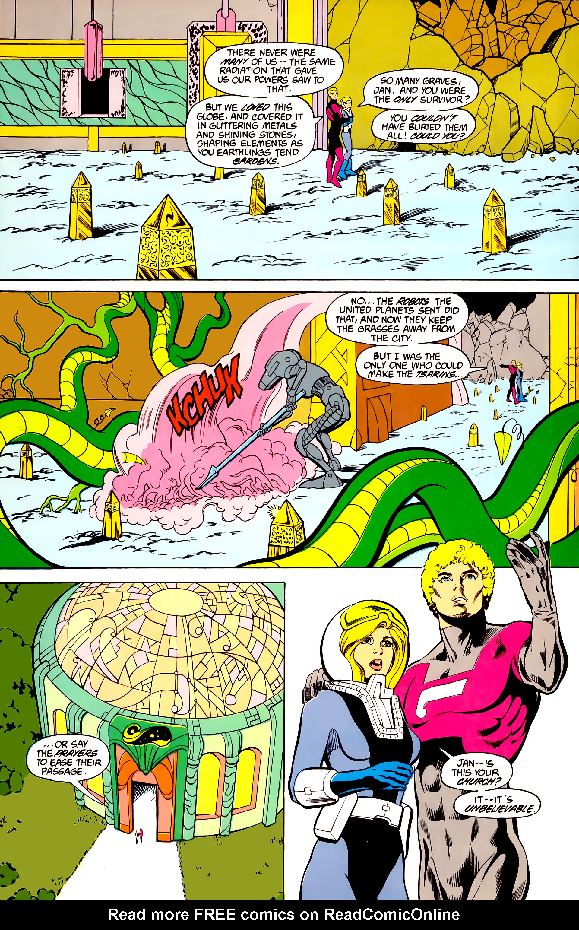 Legion of Super-Heroes (1984) 27 Page 8