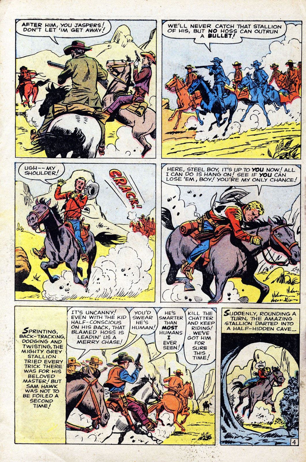 Gunsmoke Western issue 60 - Page 6