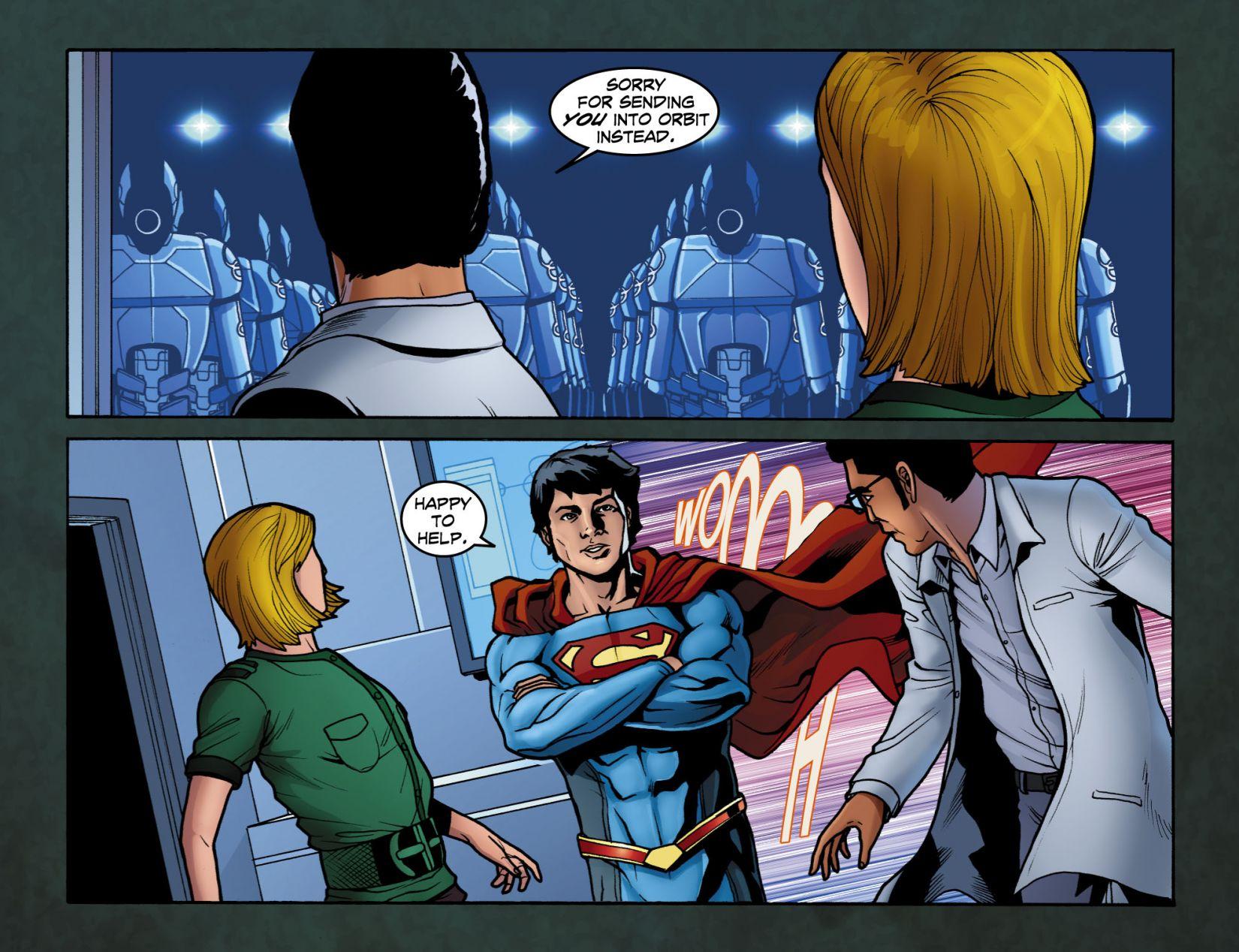 Read online Smallville: Season 11 comic -  Issue #4 - 13