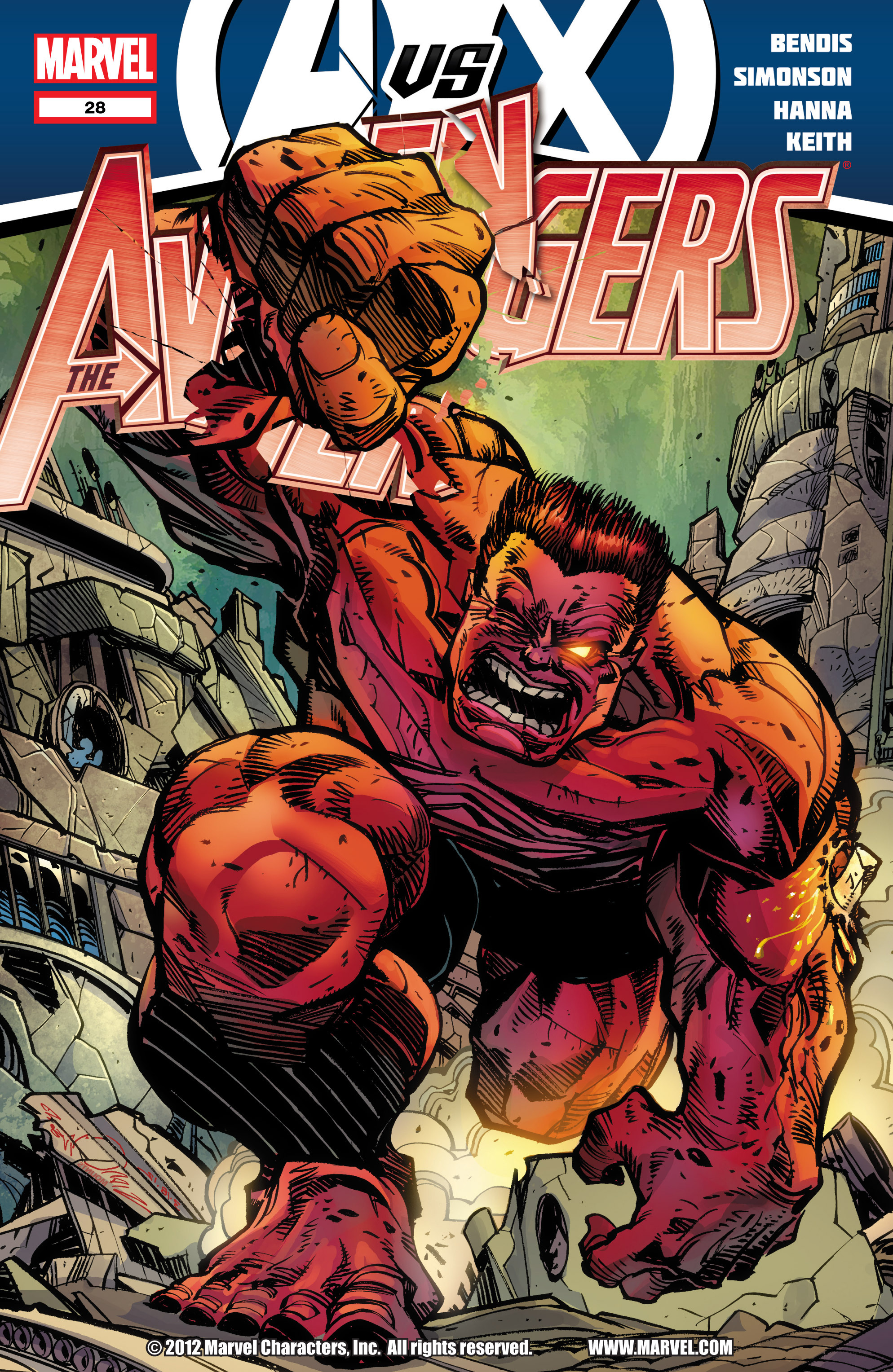 Read online Avengers (2010) comic -  Issue #28 - 1