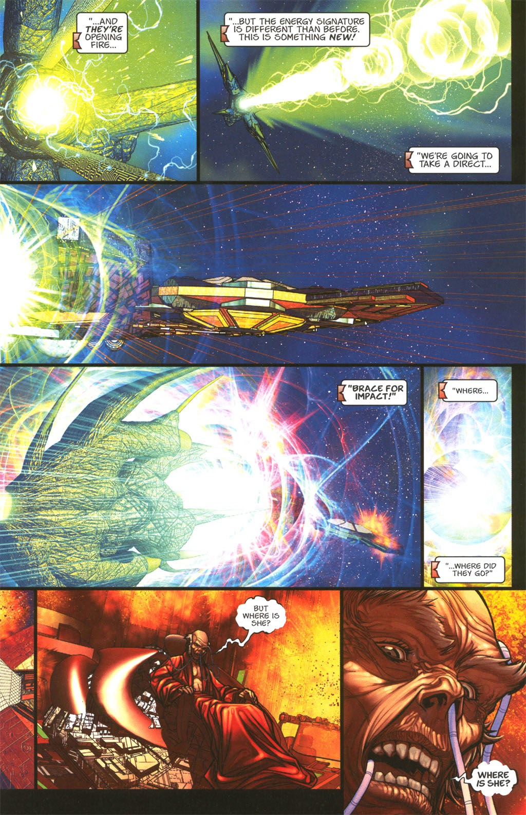Read online Chimera comic -  Issue #4 - 27