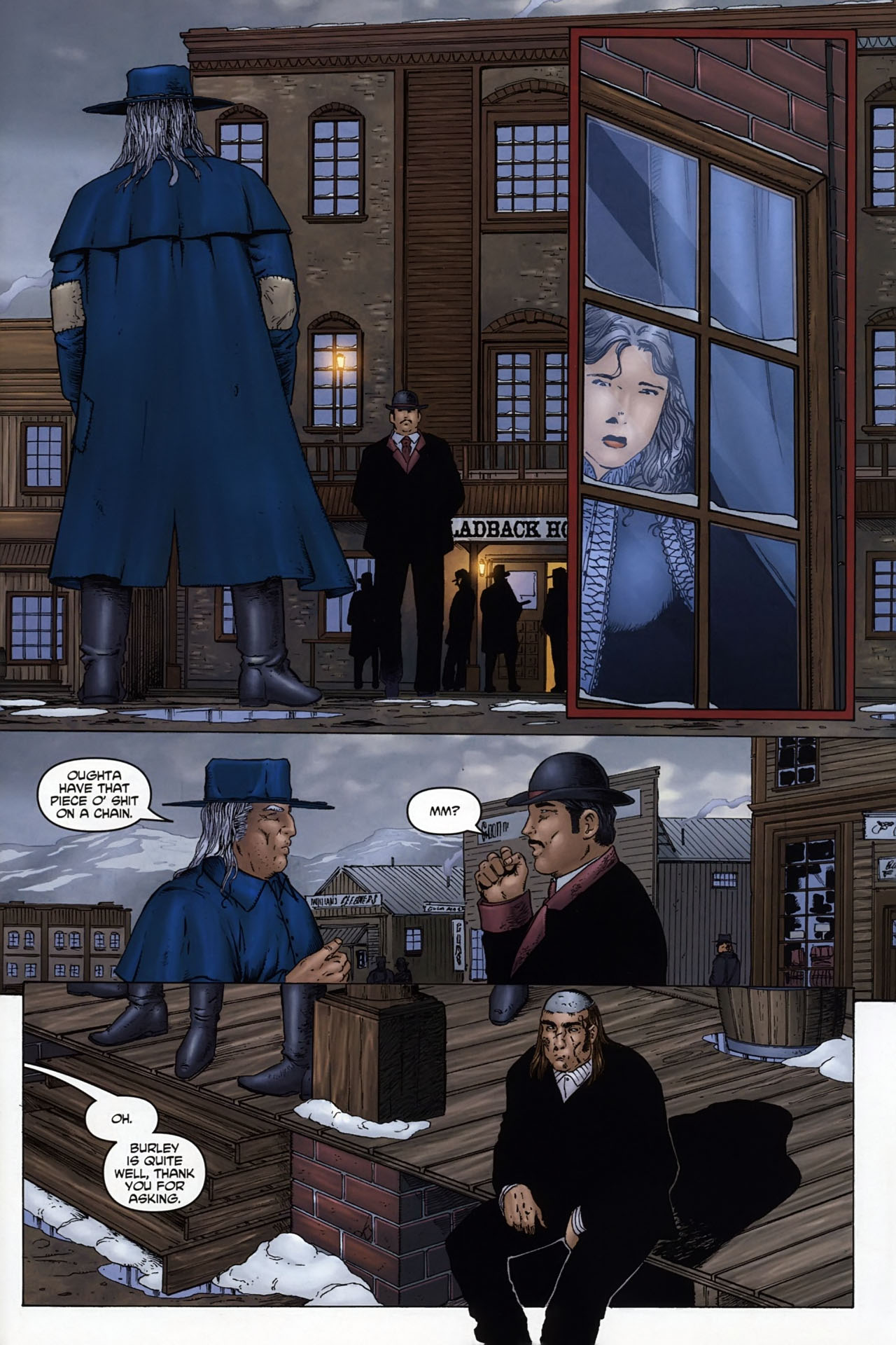 Read online Garth Ennis' Streets of Glory comic -  Issue #6 - 5