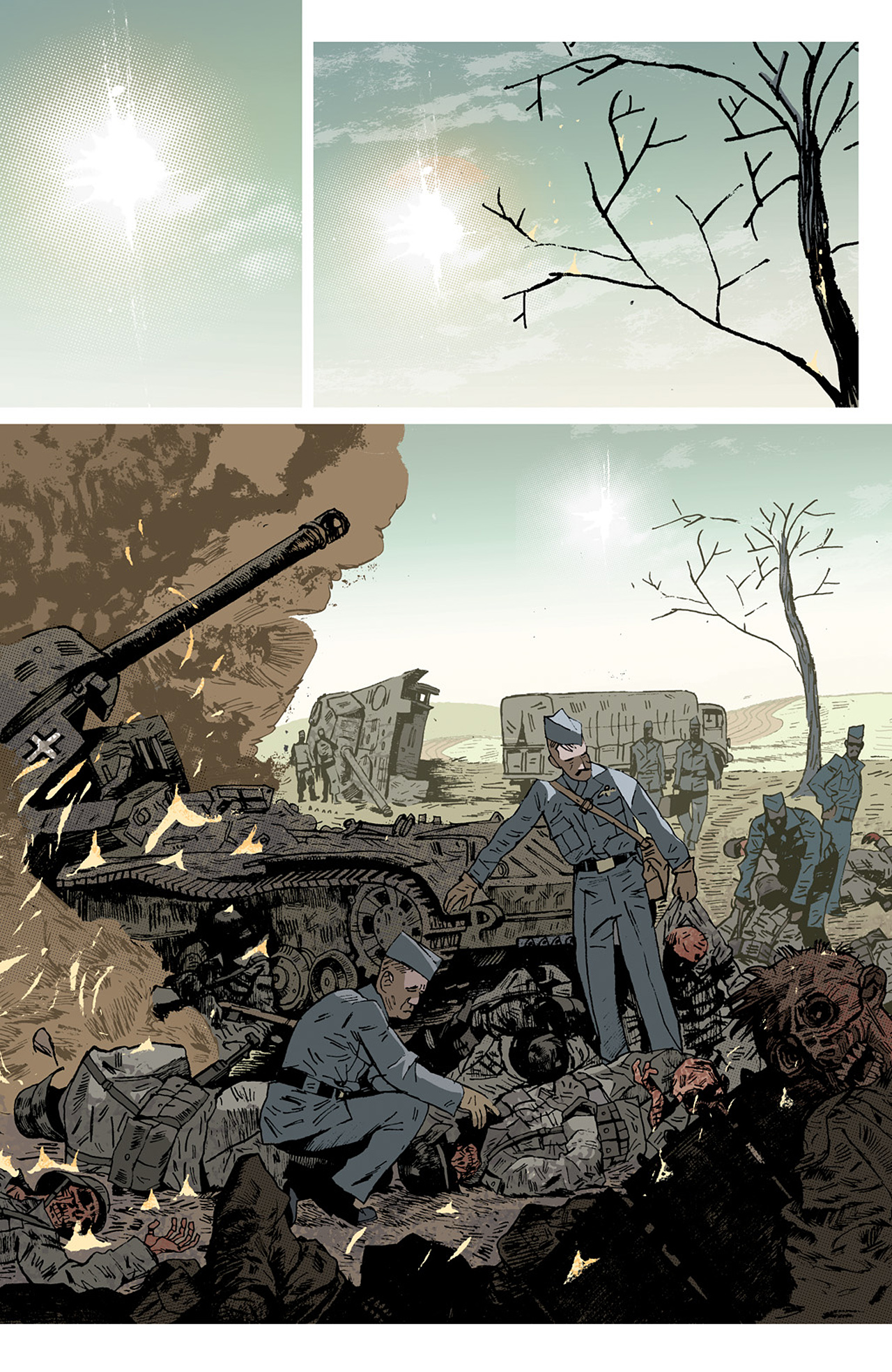 Read online Sledgehammer 44 comic -  Issue #2 - 21