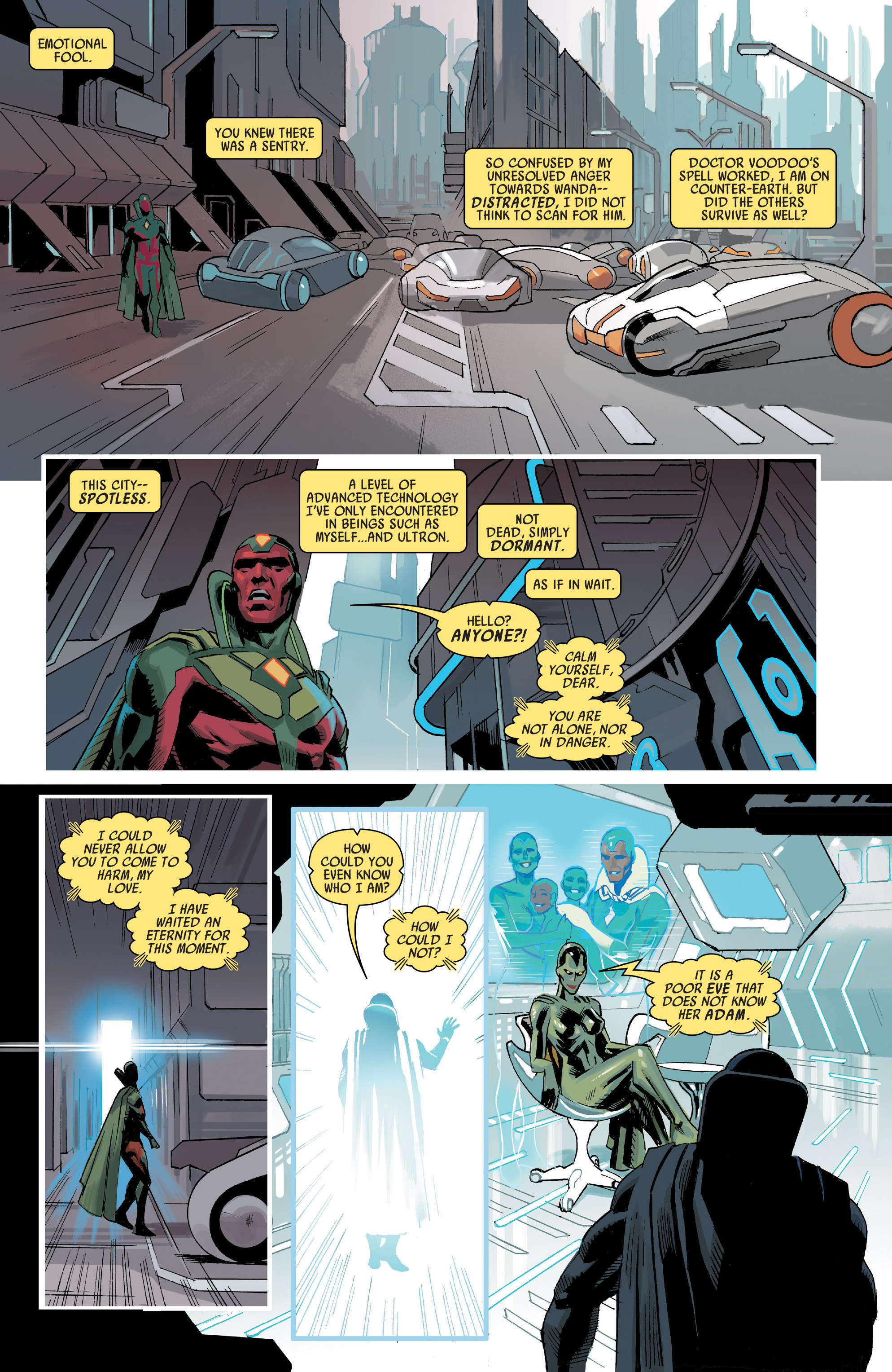 Read online Uncanny Avengers [I] comic -  Issue #1 - 16