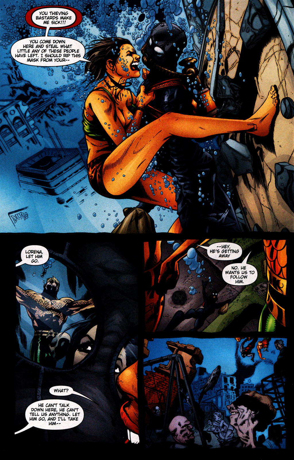 Read online Aquaman (2003) comic -  Issue #25 - 7