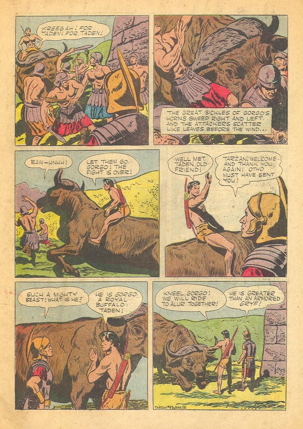 Tarzan (1948) issue 57 - Page 11