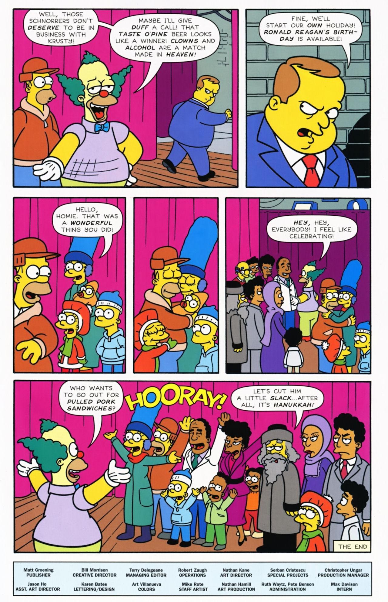 Read online Simpsons Comics comic -  Issue #172 - 33