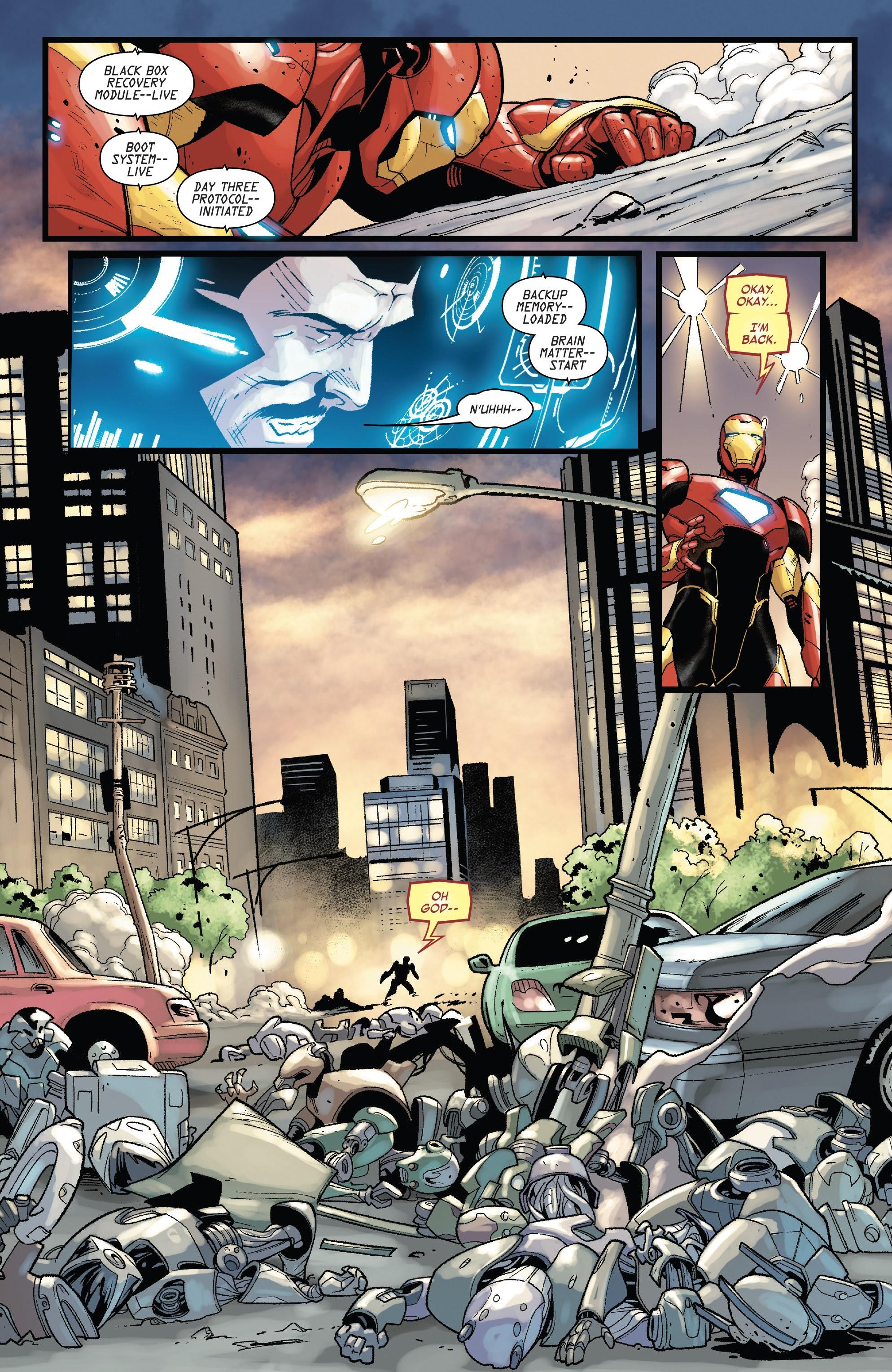 Read online Tony Stark: Iron Man comic -  Issue #15 - 20