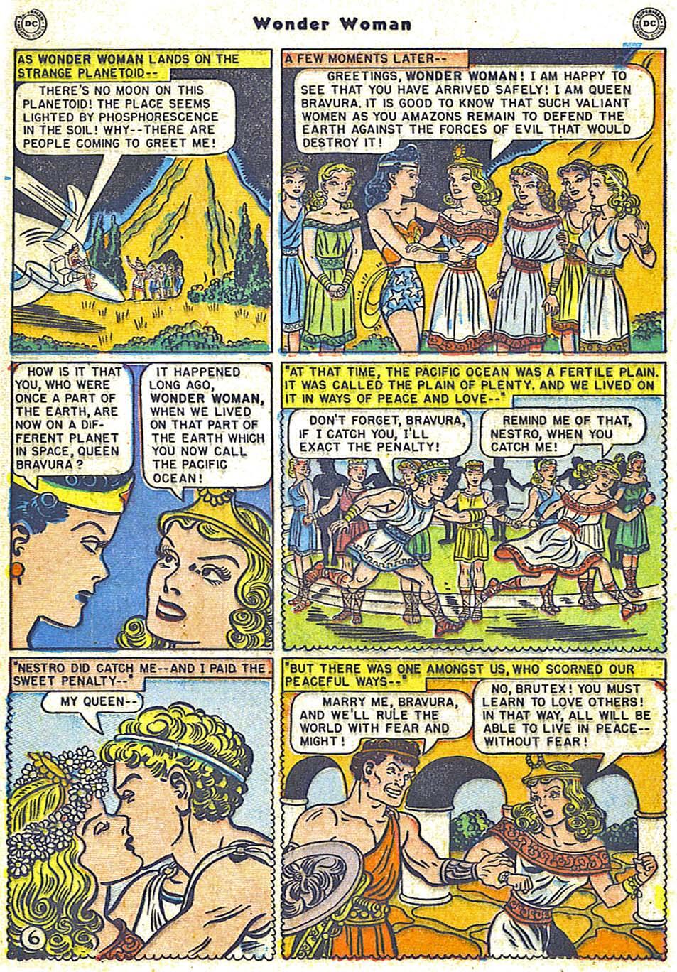 Read online Wonder Woman (1942) comic -  Issue #38 - 22