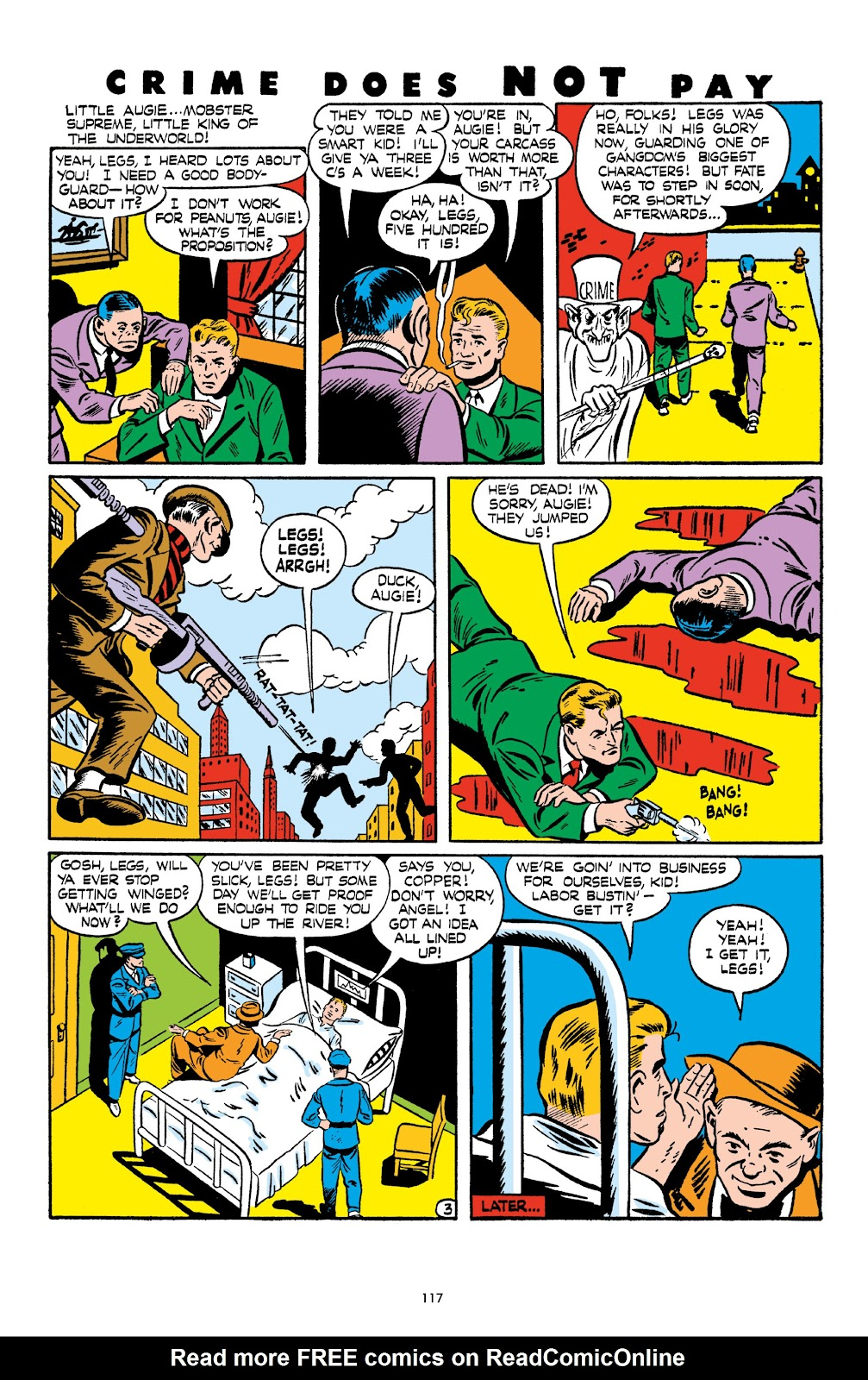 Read online Crime Does Not Pay Archives comic -  Issue # TPB 6 (Part 2) - 19