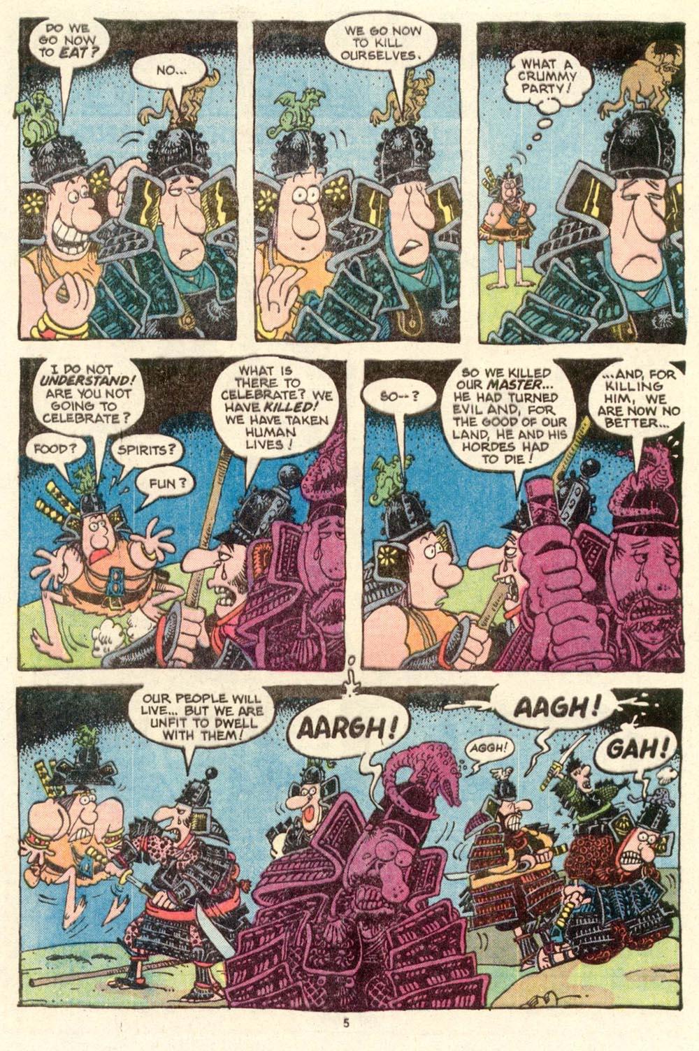 Read online Sergio Aragonés Groo the Wanderer comic -  Issue #15 - 5