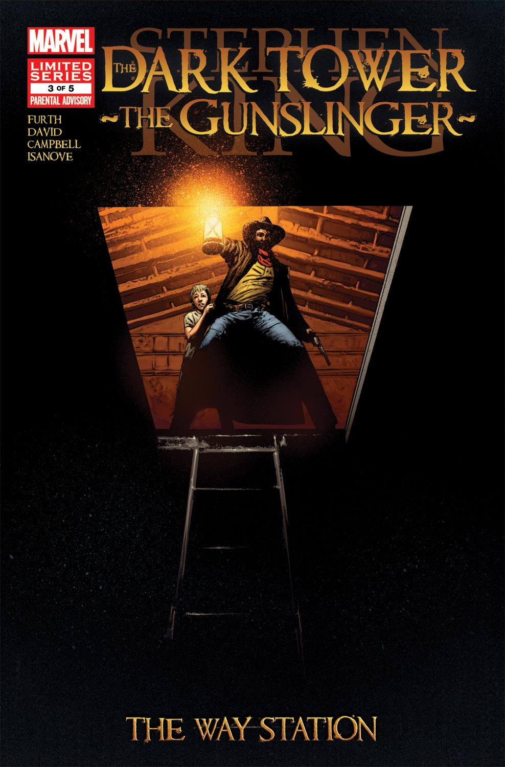 Read online Dark Tower: The Gunslinger - The Way Station comic -  Issue #3 - 1