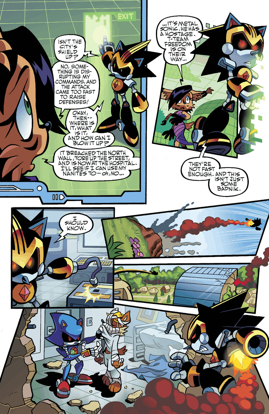 Read online Sonic Universe comic -  Issue #50 - 11