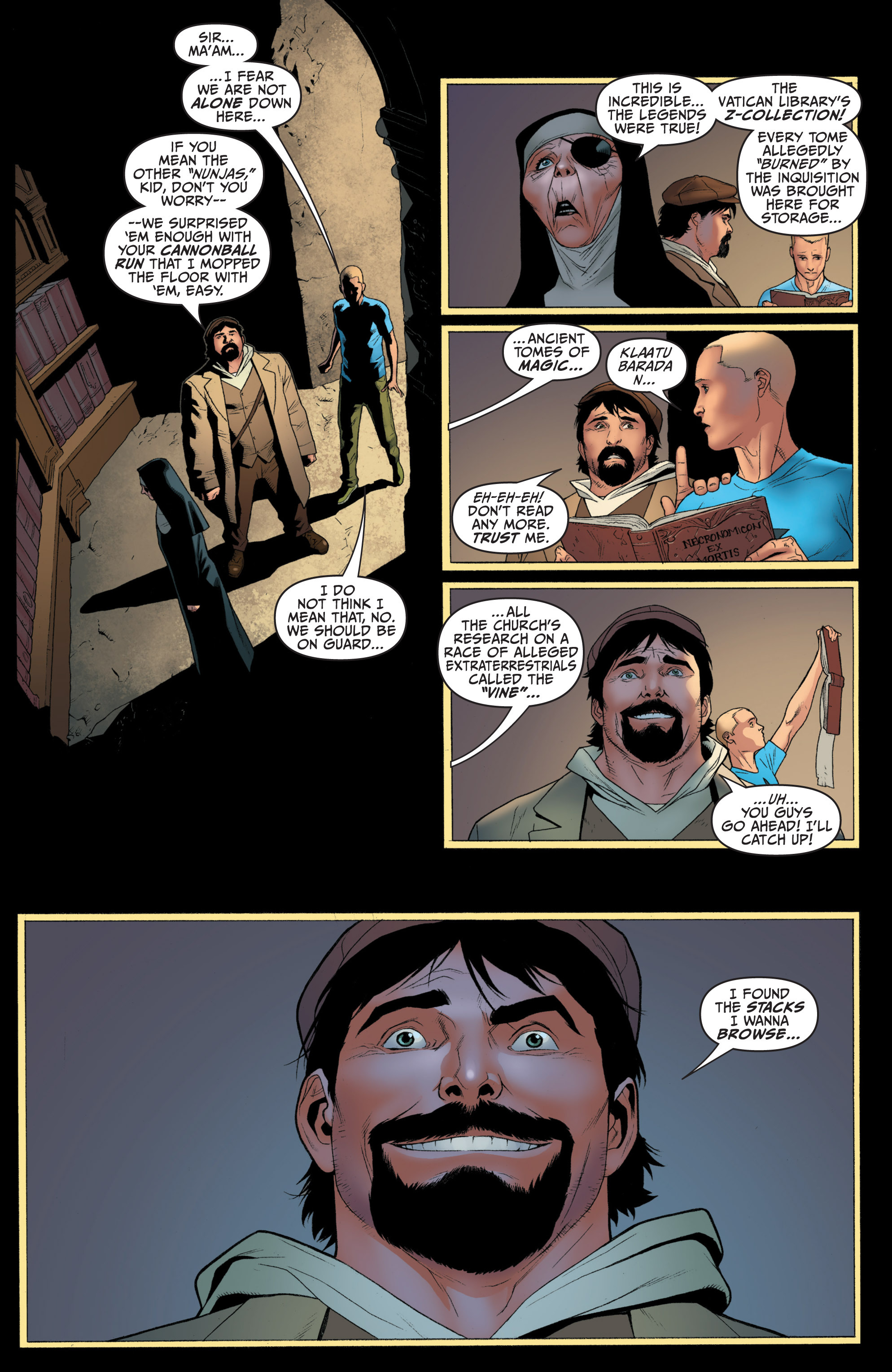 Read online Archer and Armstrong comic -  Issue #Archer and Armstrong _TPB 1 - 60