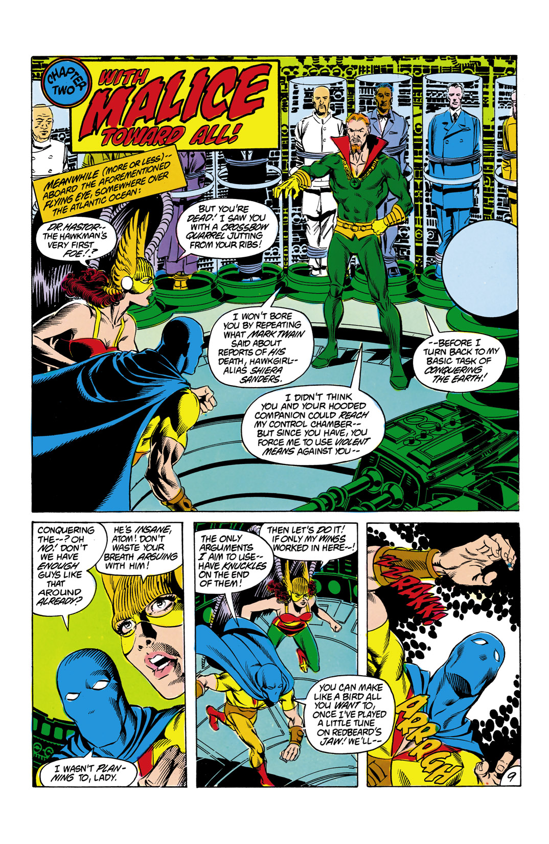 Read online All-Star Squadron comic -  Issue #12 - 10