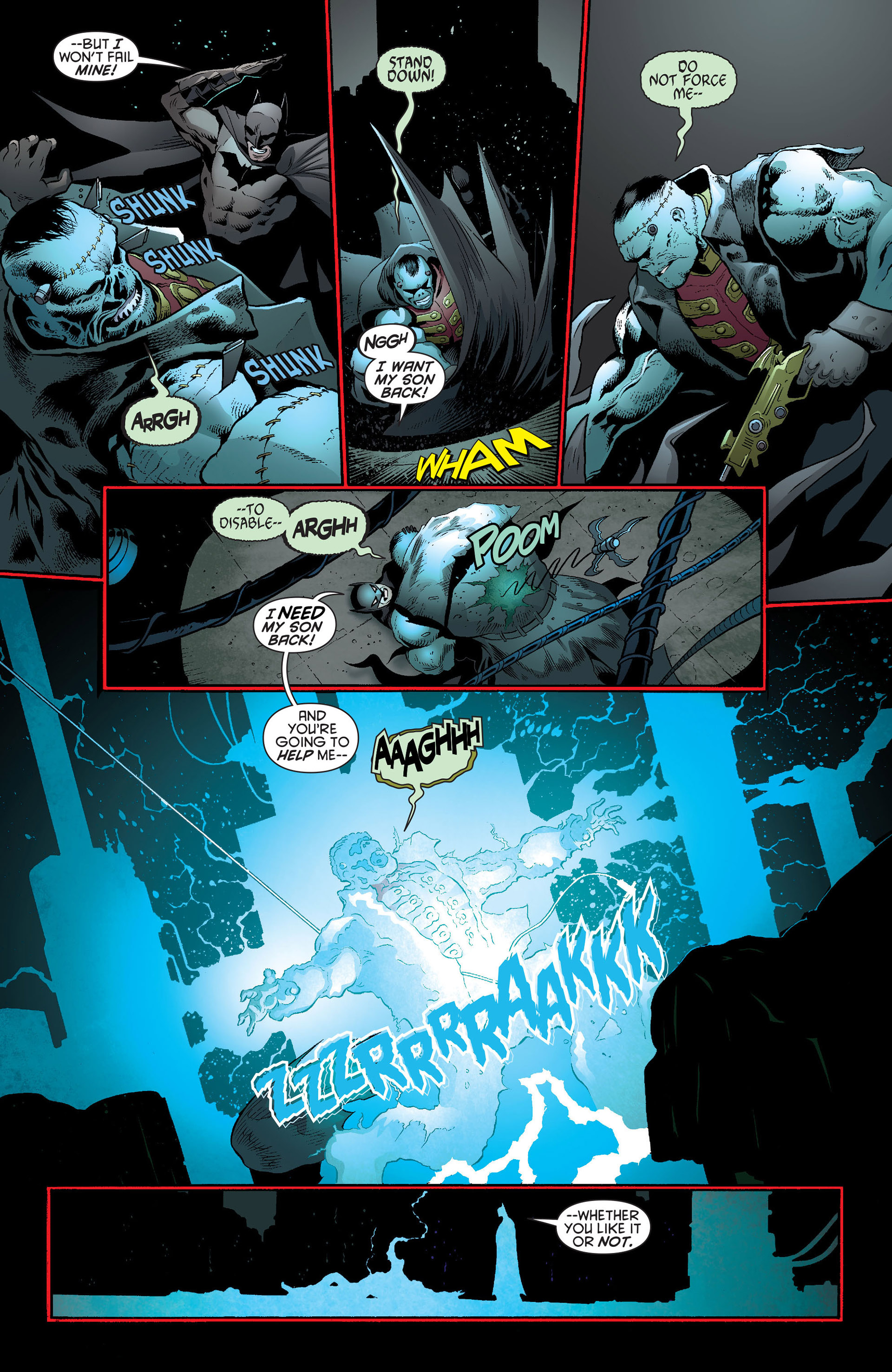 Read online Batman and Robin (2011) comic -  Issue #19 - 15