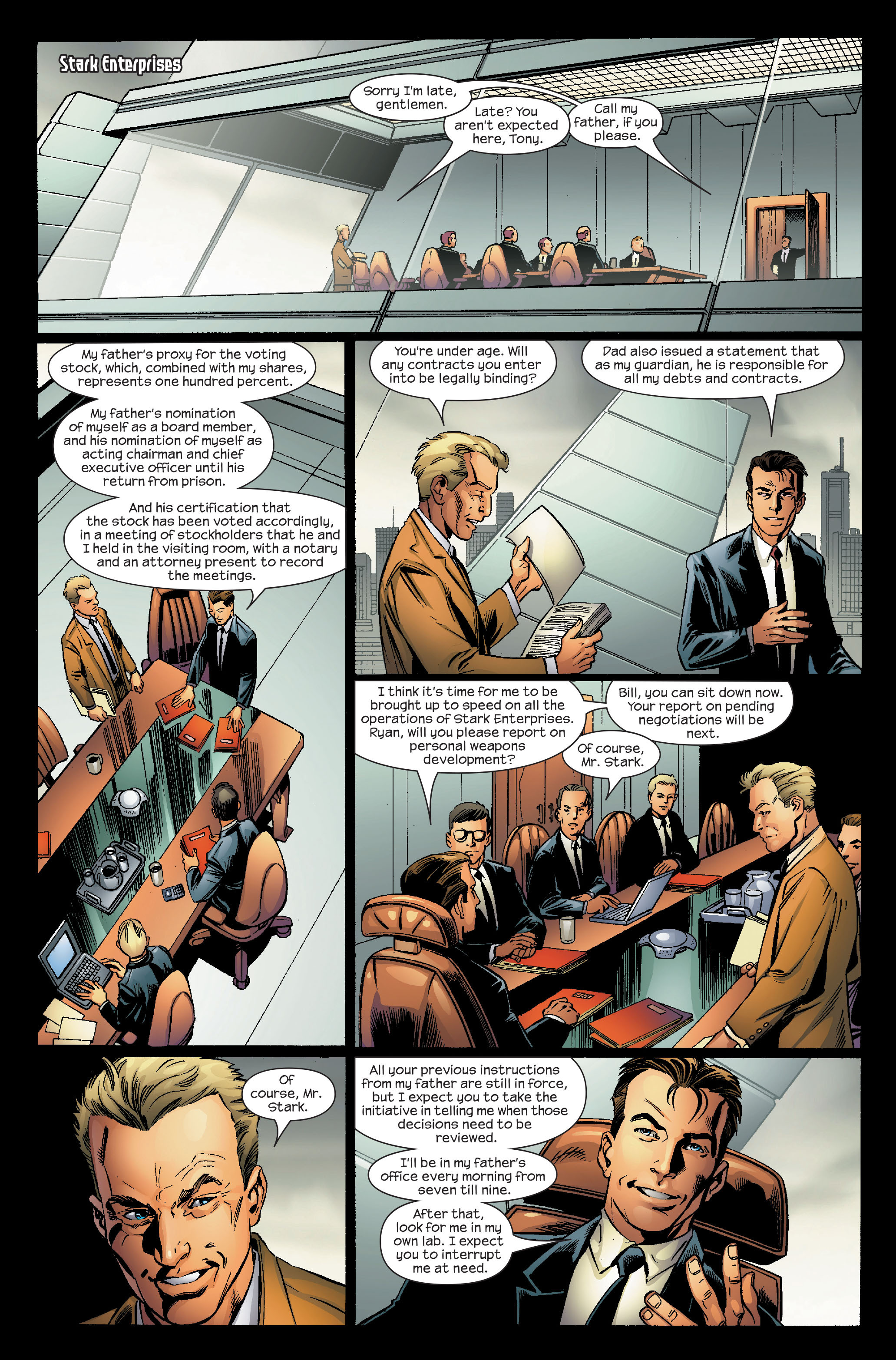 Read online Ultimate Iron Man (2005) comic -  Issue #5 - 14