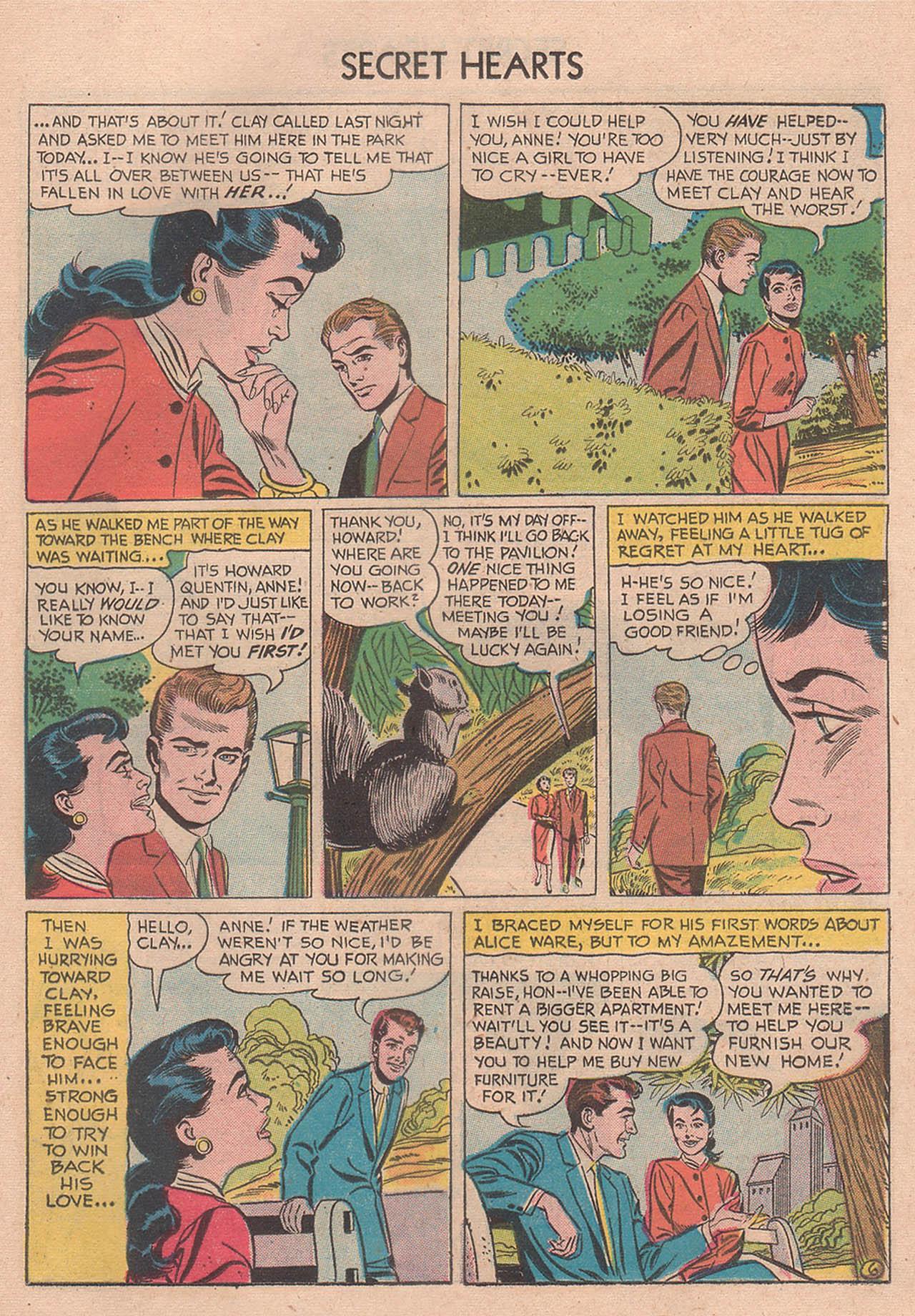 Read online Secret Hearts comic -  Issue #39 - 25