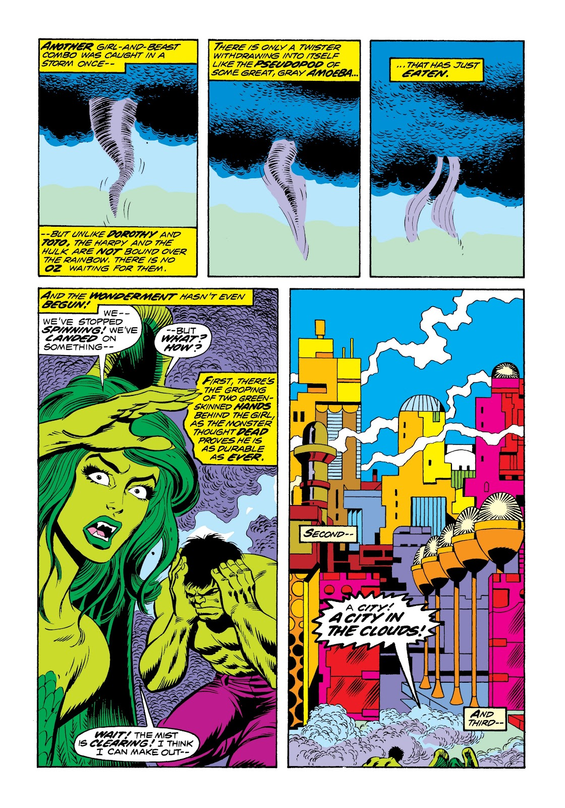 Read online Marvel Masterworks: The Incredible Hulk comic -  Issue # TPB 9 (Part 3) - 63