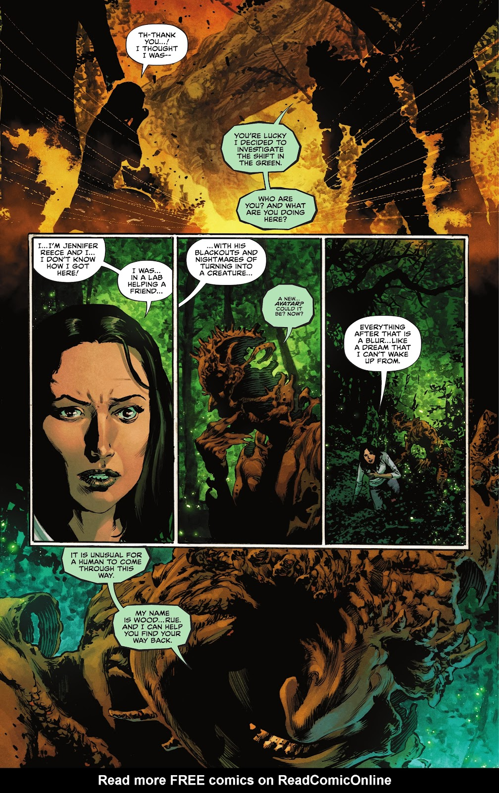 The Swamp Thing issue 3 - Page 13