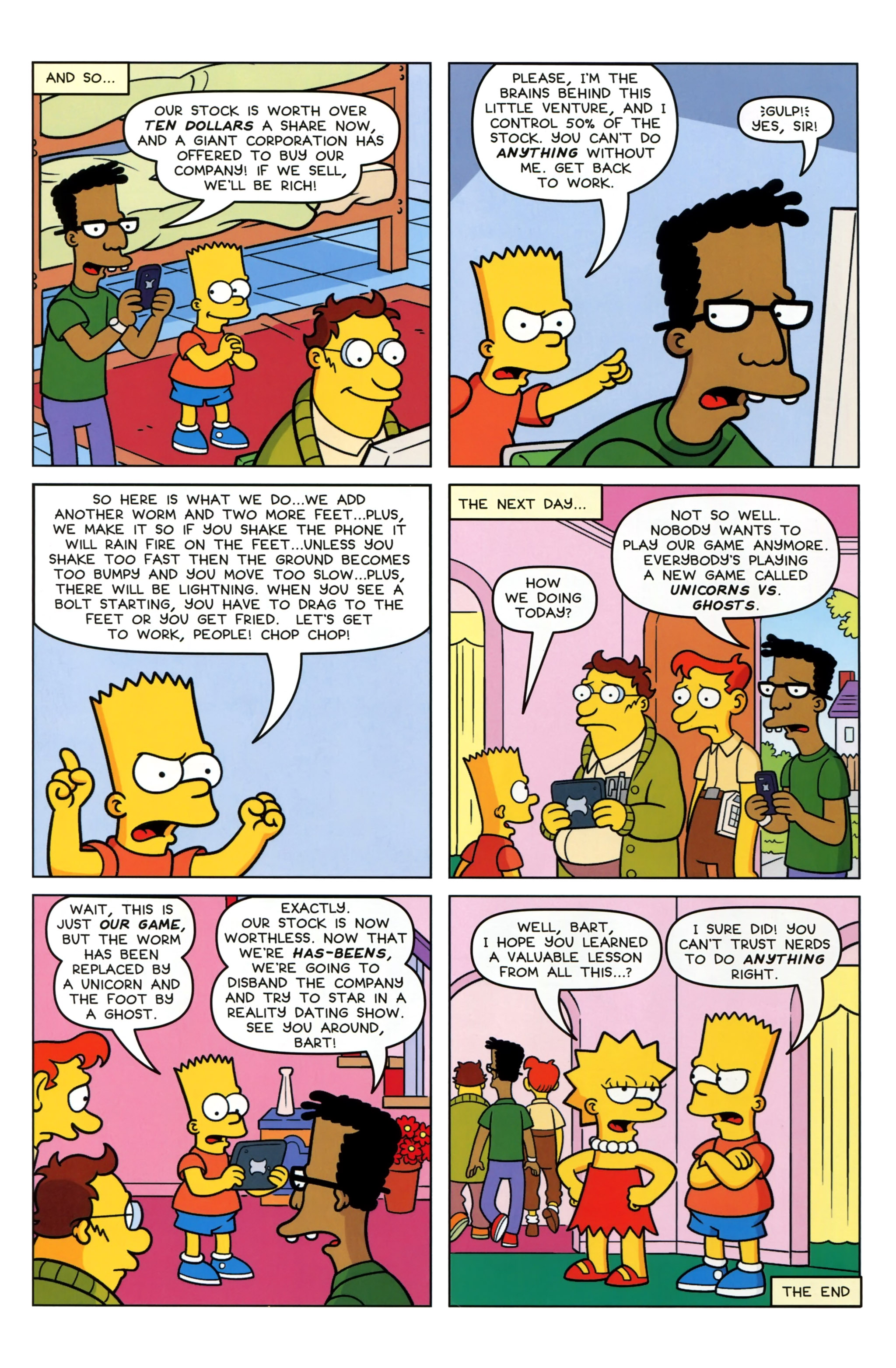 Read online Simpsons Comics Presents Bart Simpson comic -  Issue #97 - 14