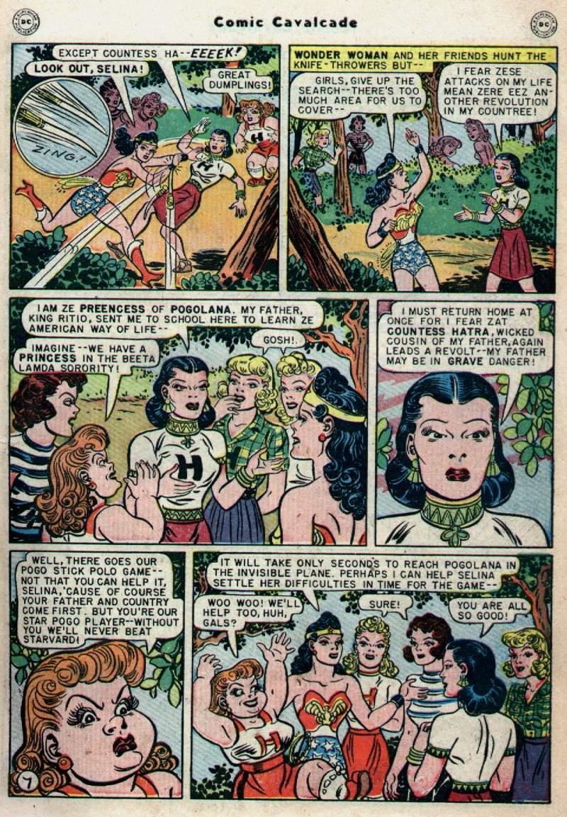 Comic Cavalcade issue 28 - Page 9