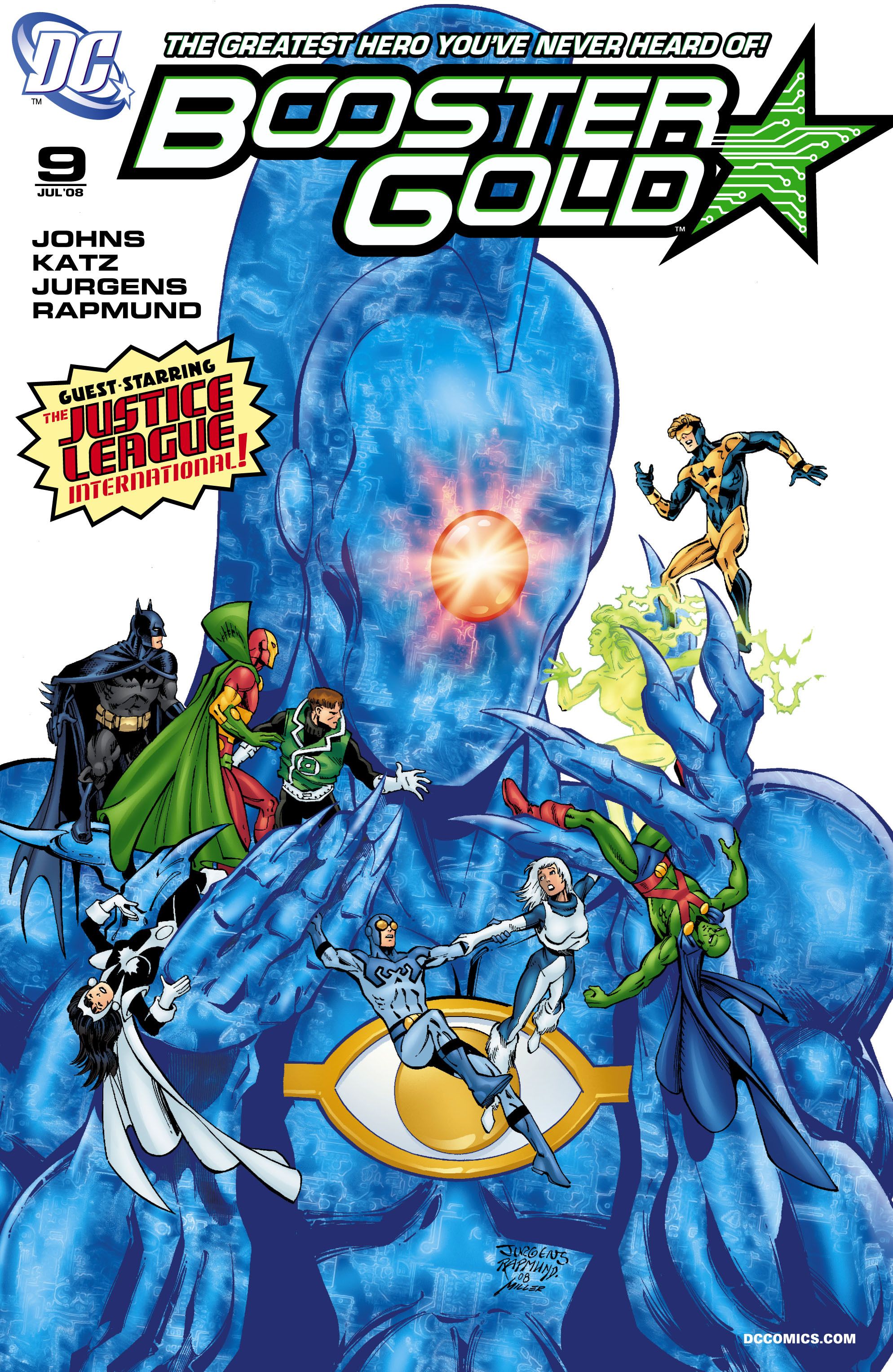 Booster Gold 2007 Issue 9