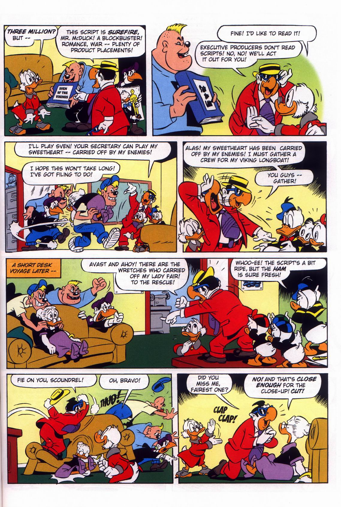 Read online Uncle Scrooge (1953) comic -  Issue #316 - 37