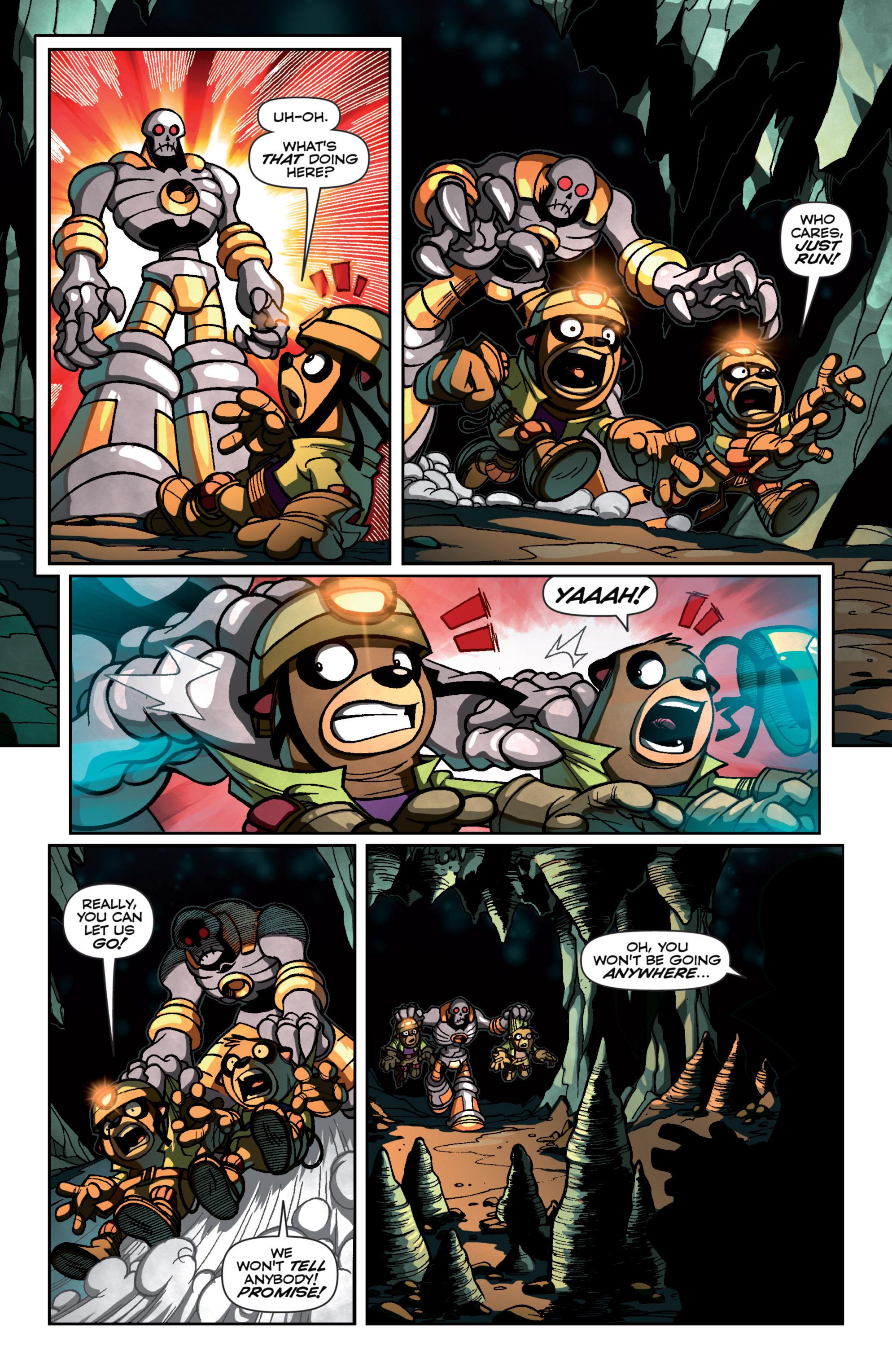 Read online Skylanders Superchargers comic -  Issue #4 - 5