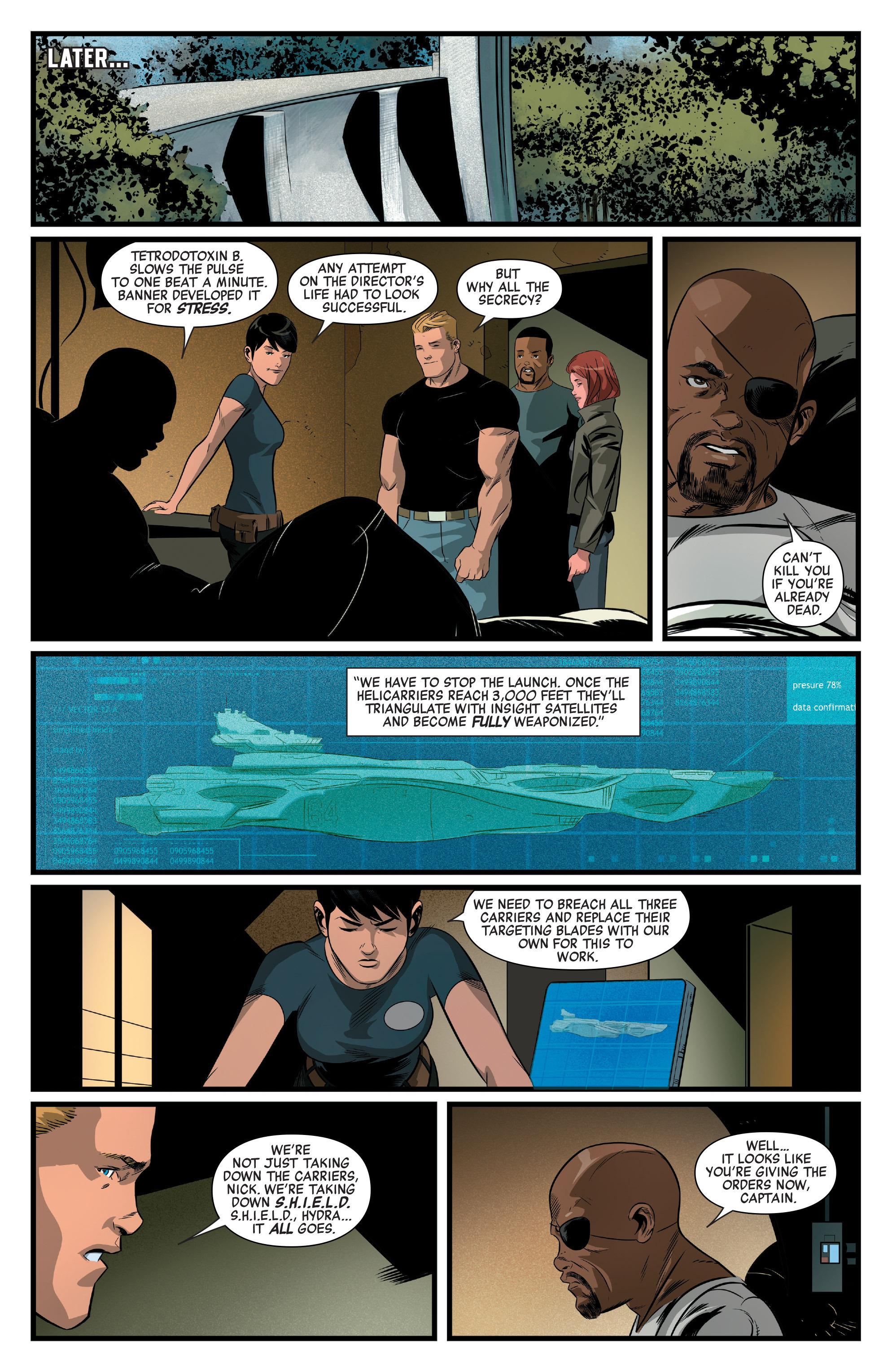 Read online Captain America: Civil War Prelude comic -  Issue #4 - 11