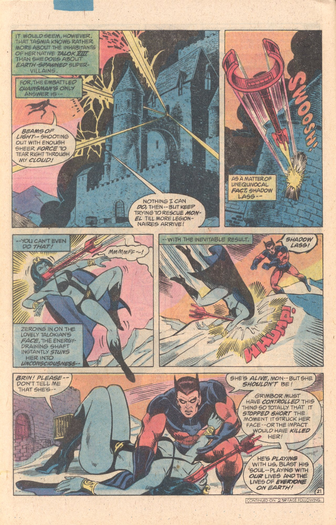 Legion of Super-Heroes (1980) 278 Page 21