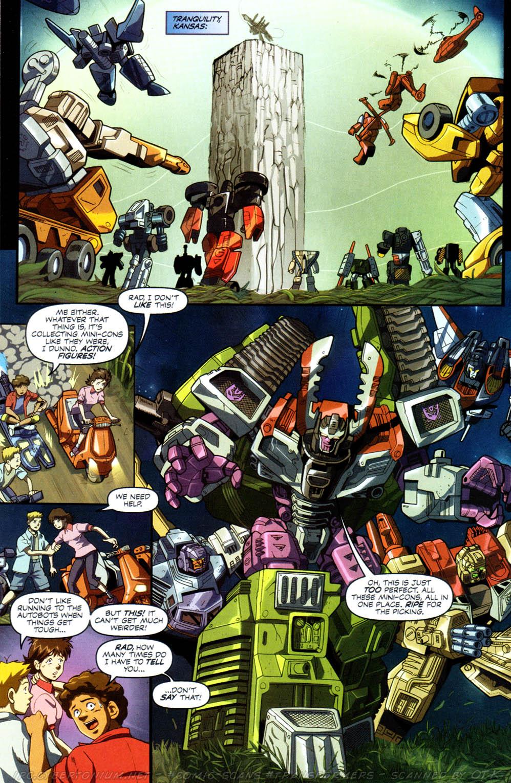 Read online Transformers Armada comic -  Issue #8 - 17