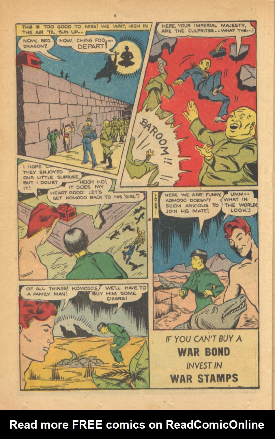 Read online Super-Magician Comics comic -  Issue #41 - 34
