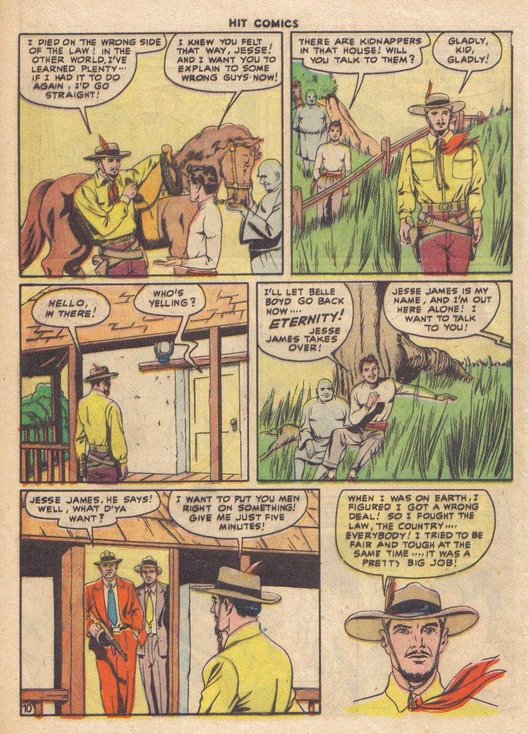 Read online Hit Comics comic -  Issue #46 - 12