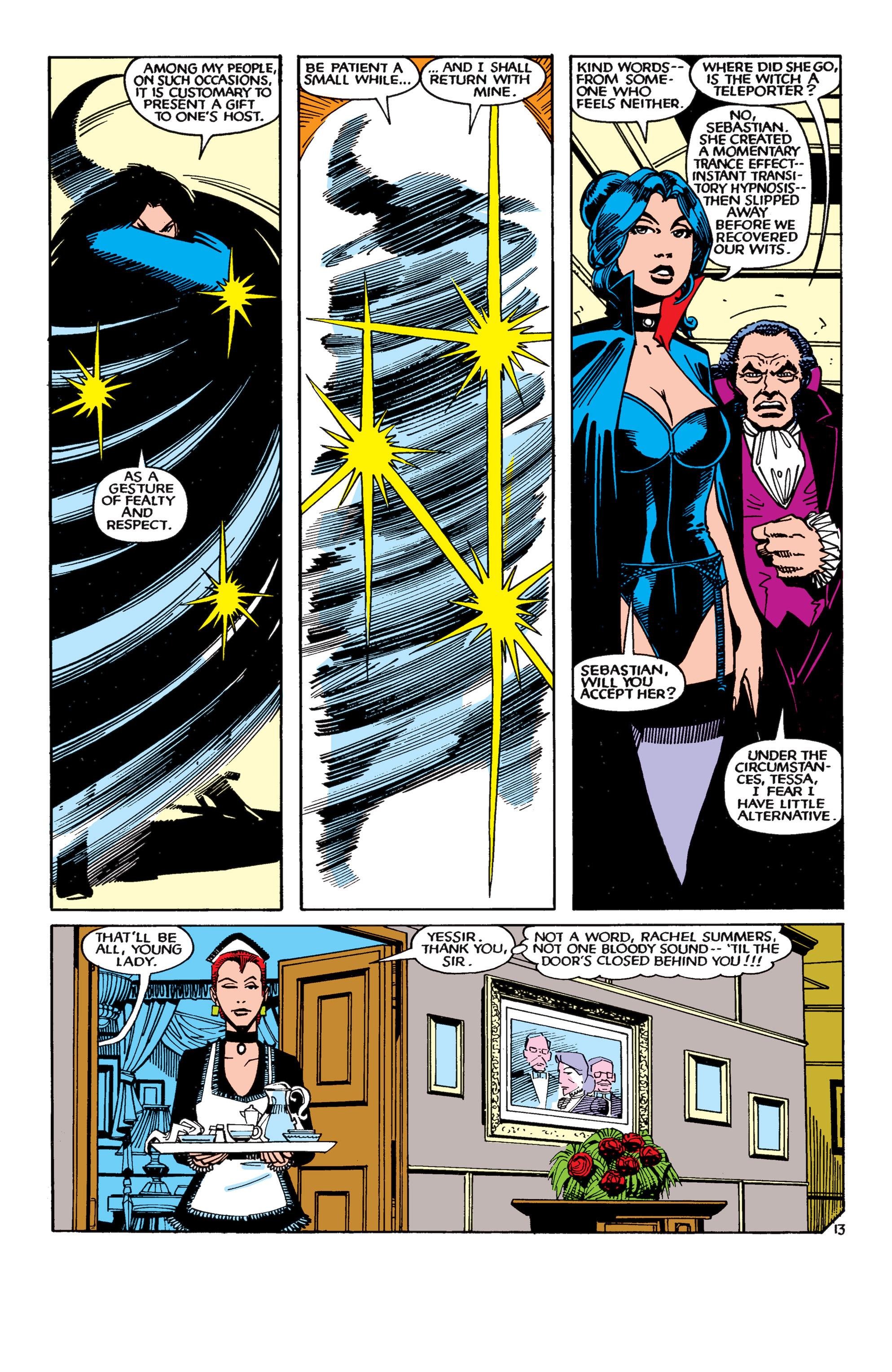 Read online Uncanny X-Men (1963) comic -  Issue #189 - 13