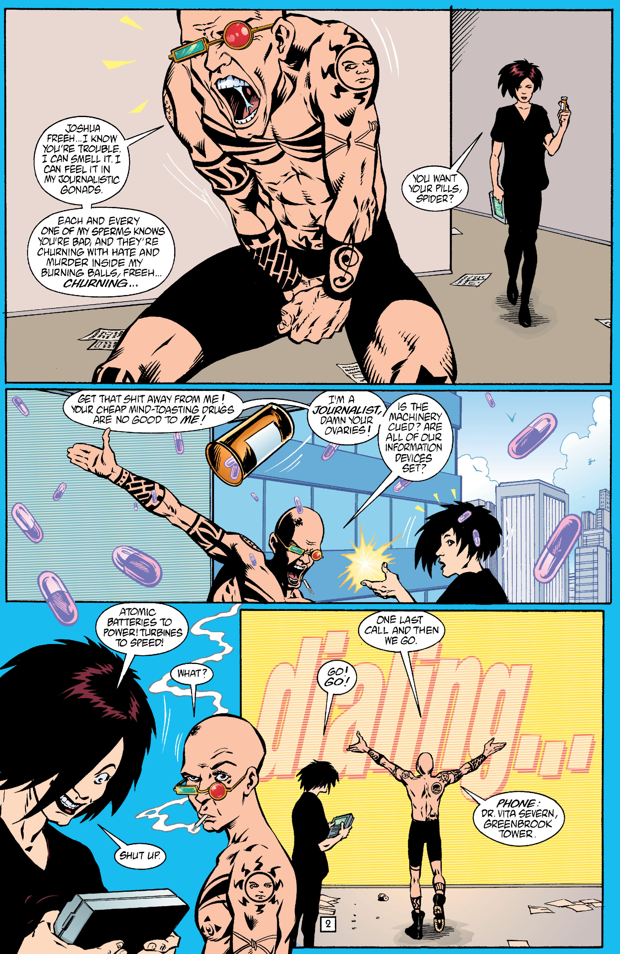 Read online Transmetropolitan comic -  Issue #18 - 3