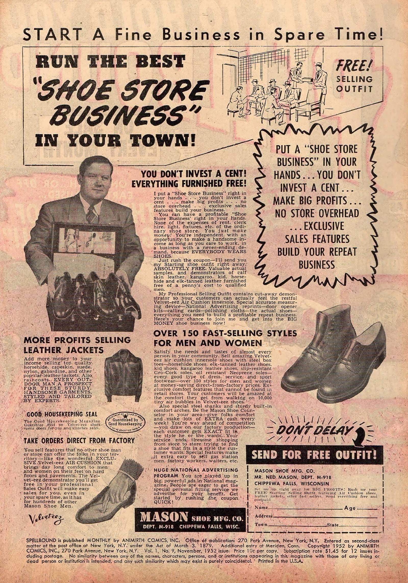 Spellbound (1952) issue 9 - Page 2