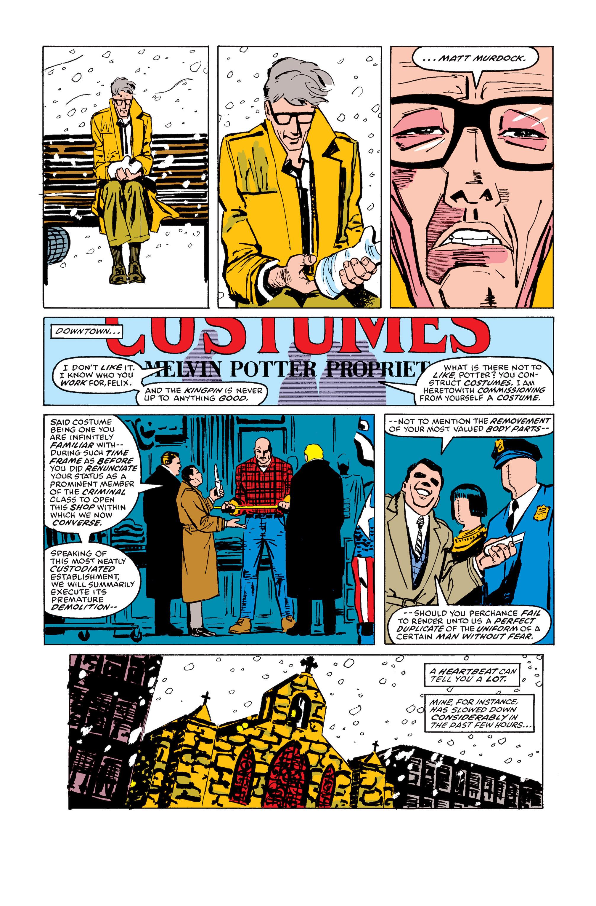 Read online Daredevil: Born Again comic -  Issue # Full - 120