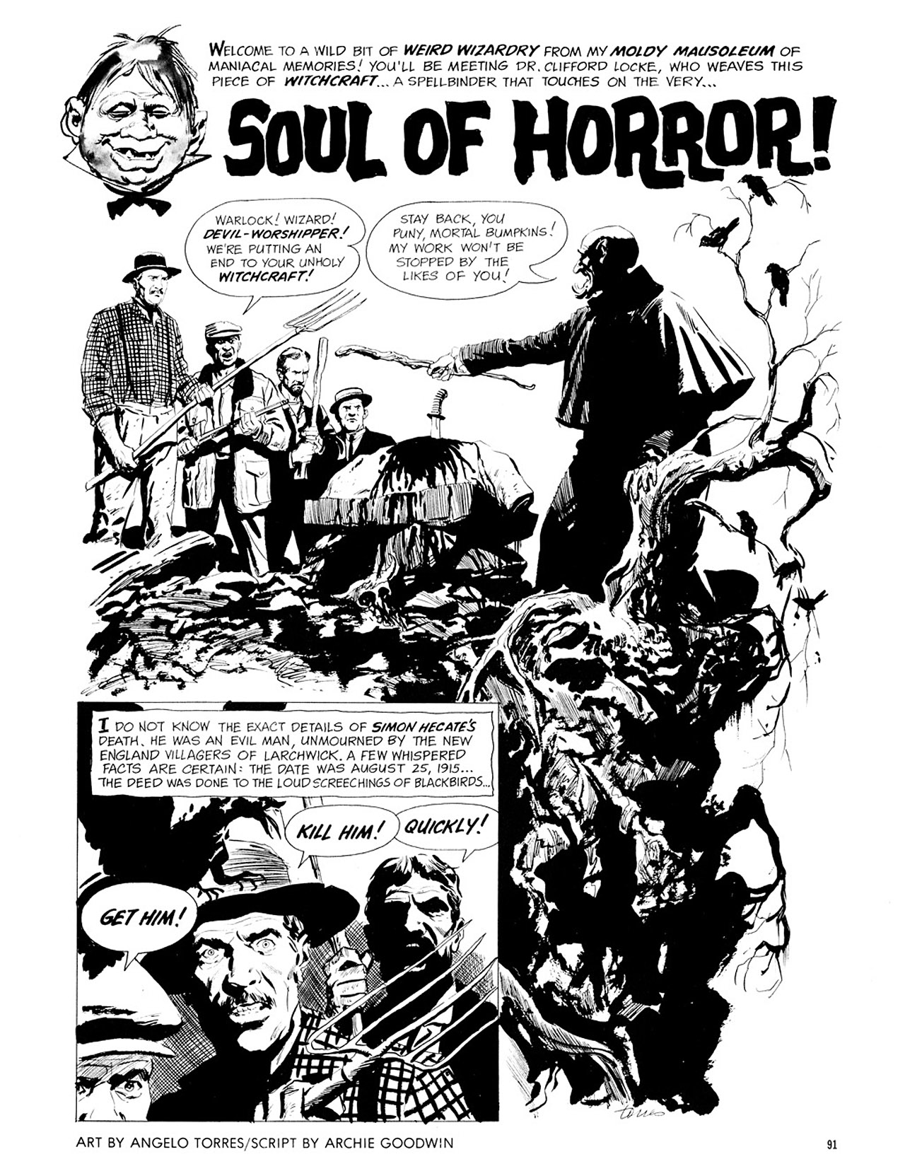 Read online Eerie Archives comic -  Issue # TPB 1 - 92
