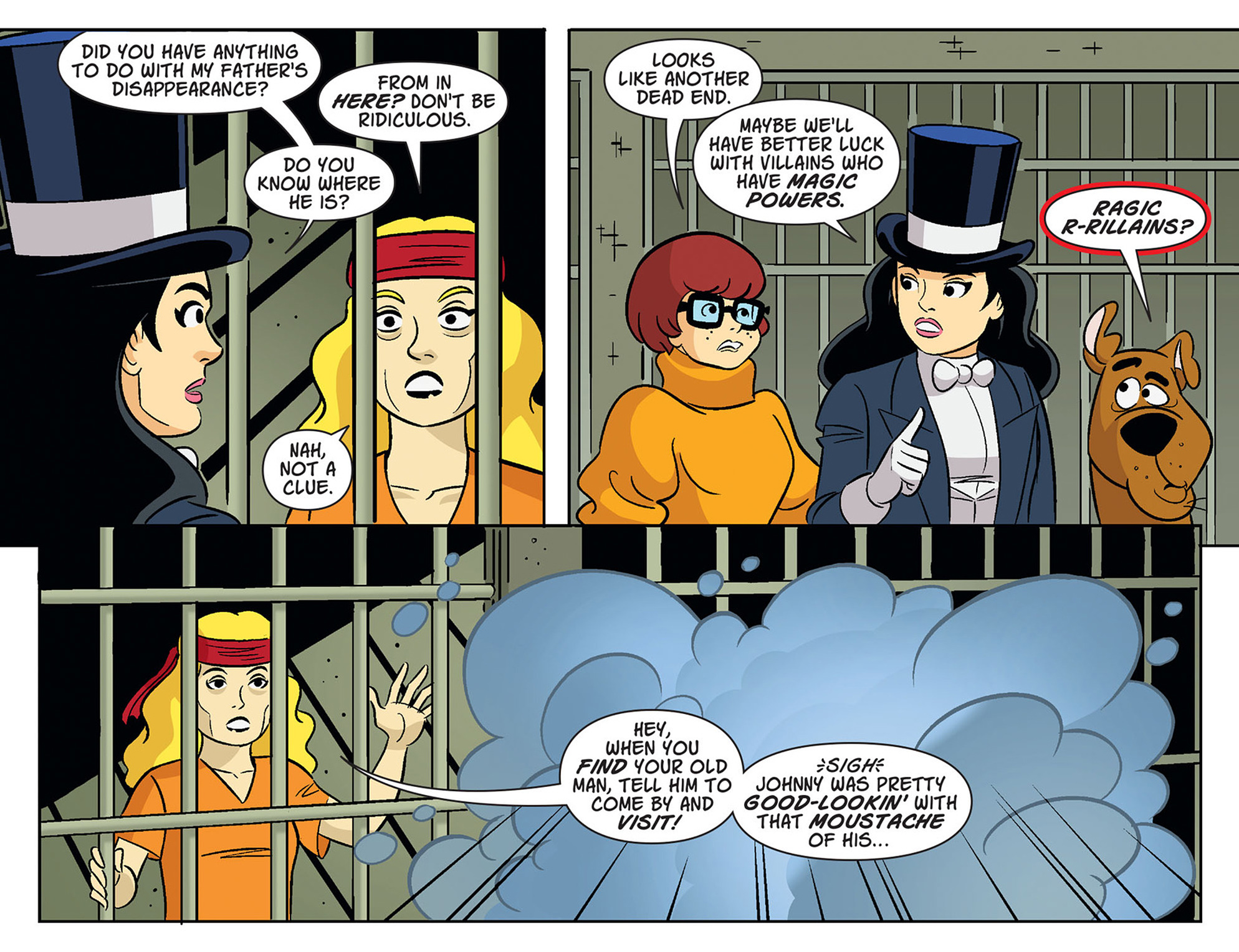 Read online Scooby-Doo! Team-Up comic -  Issue #37 - 17