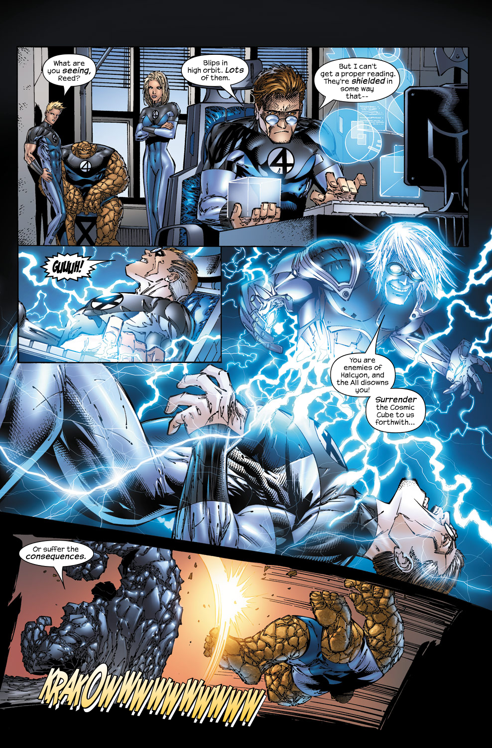 Read online Ultimate Fantastic Four (2004) comic -  Issue #50 - 16