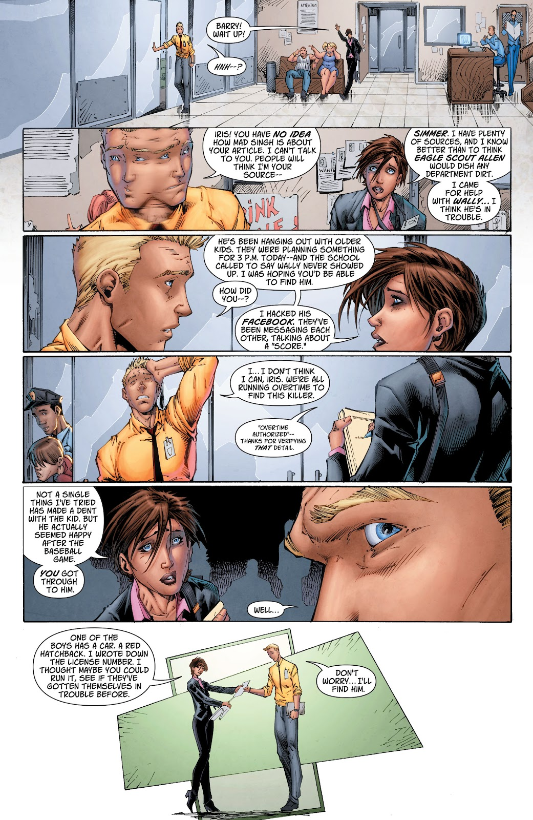 Read online The Flash (2011) comic -  Issue # _TPB 6 (Part 2) - 1