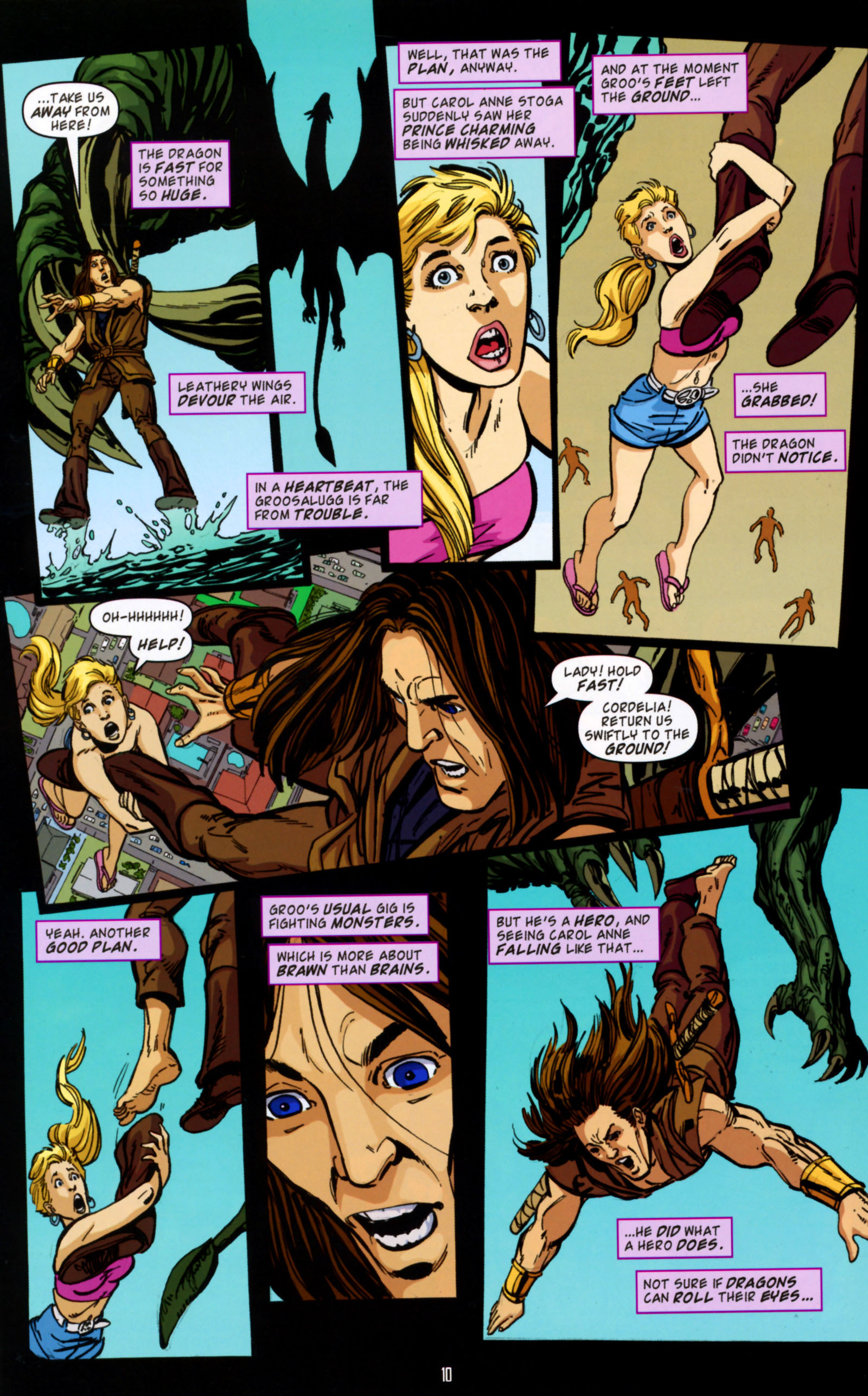Read online Angel Special: Lorne comic -  Issue # Full - 11
