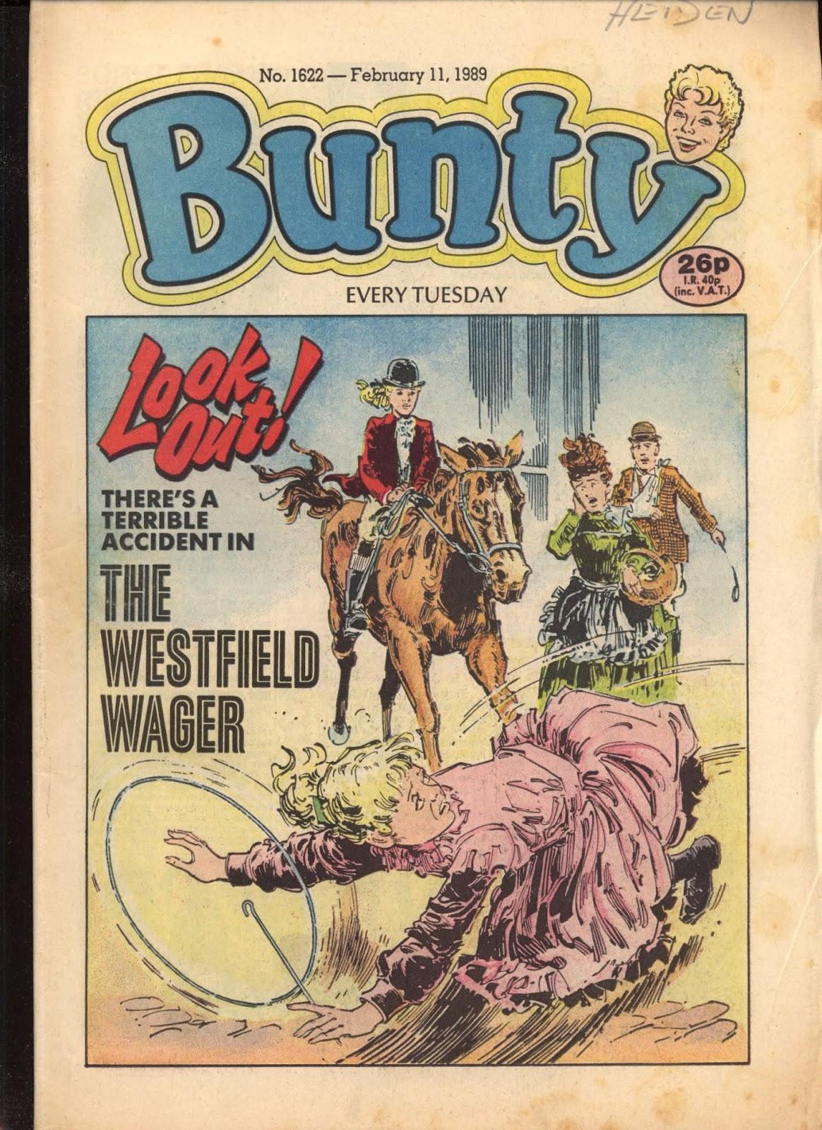 Bunty 1622 Page 1