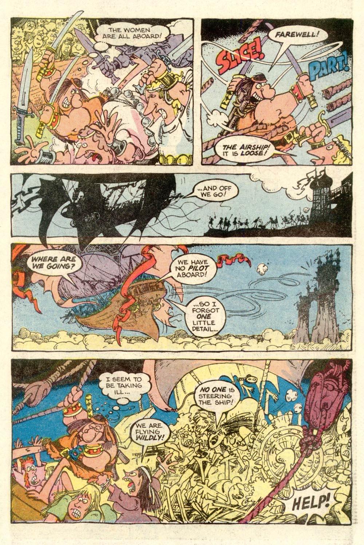Read online Sergio Aragonés Groo the Wanderer comic -  Issue #4 - 19